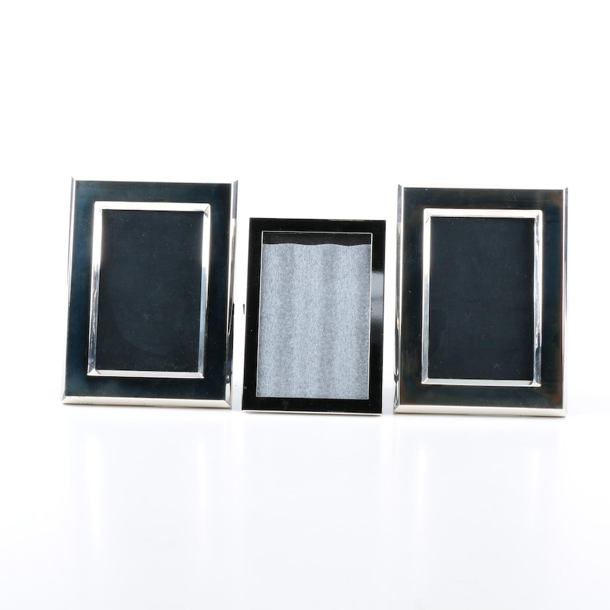 Silver Plated Picture Frames from Reed & Barton and Pottery Barn : EBTH