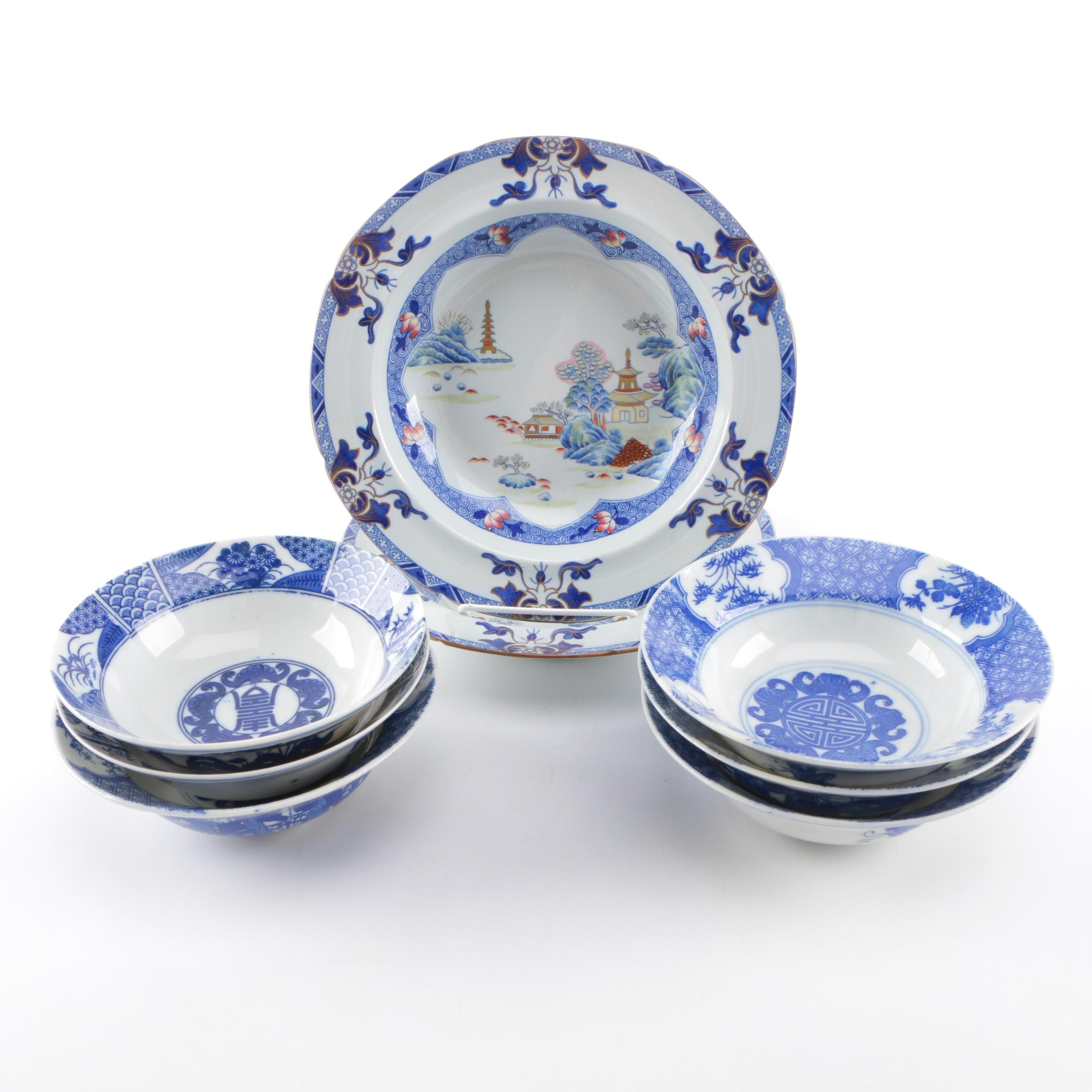 Eastern Asian Tableware and Spode English Pottery Dinnerware  sc 1 st  EBTH.com & Vintage Tableware Auction | Antique Tableware Auctions in Art ...