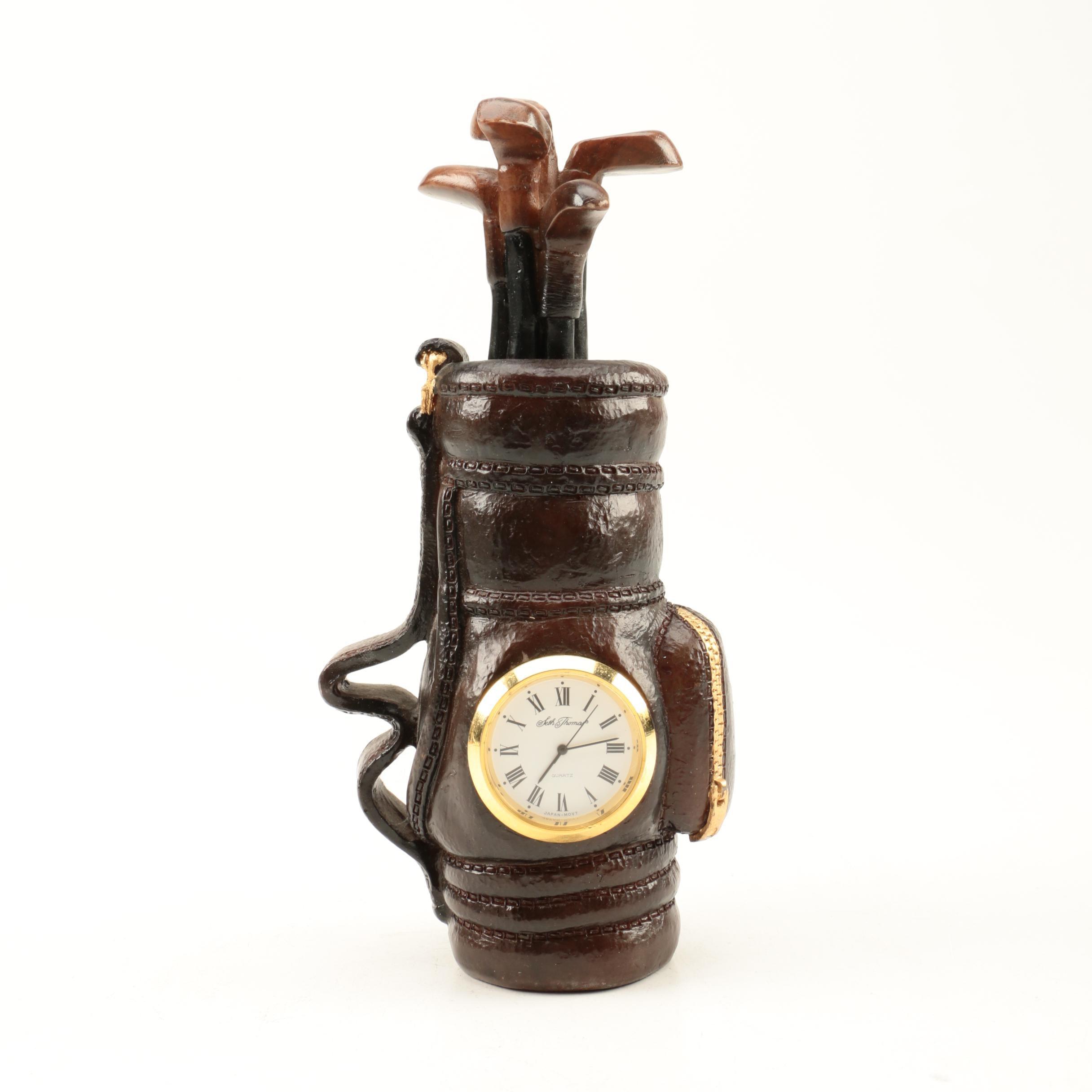 Seth Thomas Miniature Novelty Clock