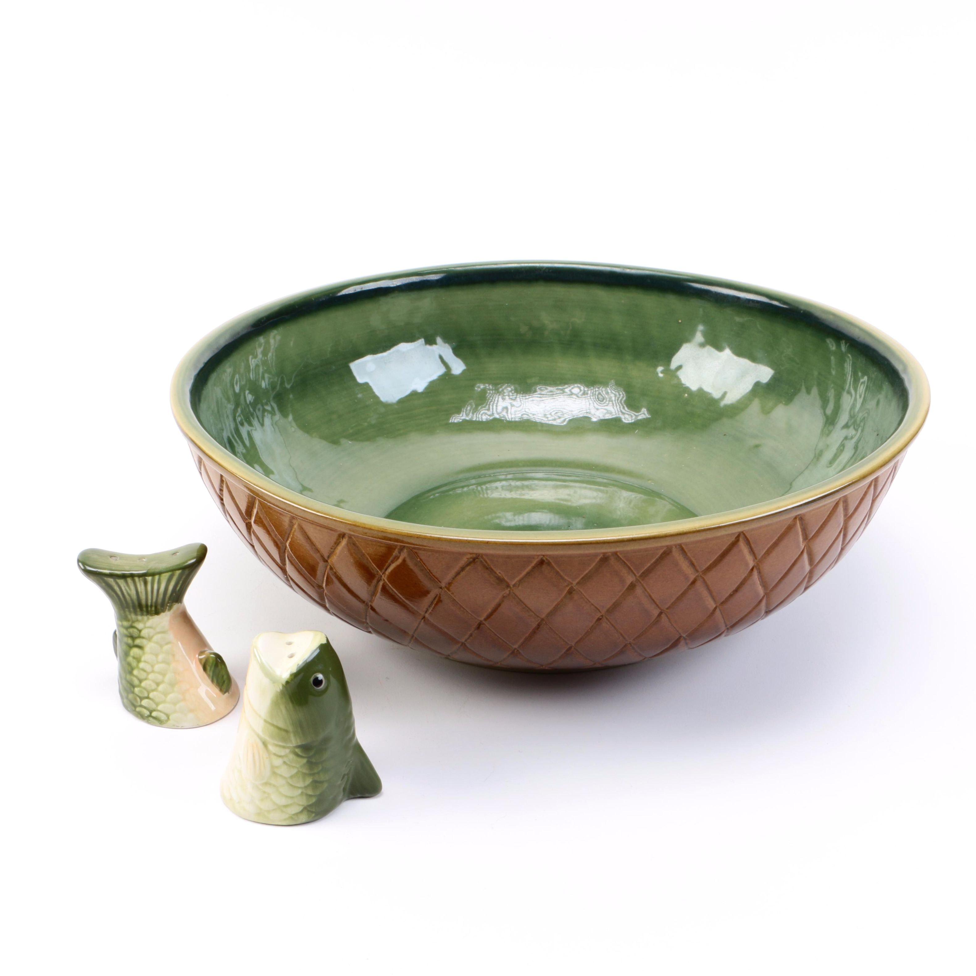 Ceramic Tableware Including Louisville Stoneware