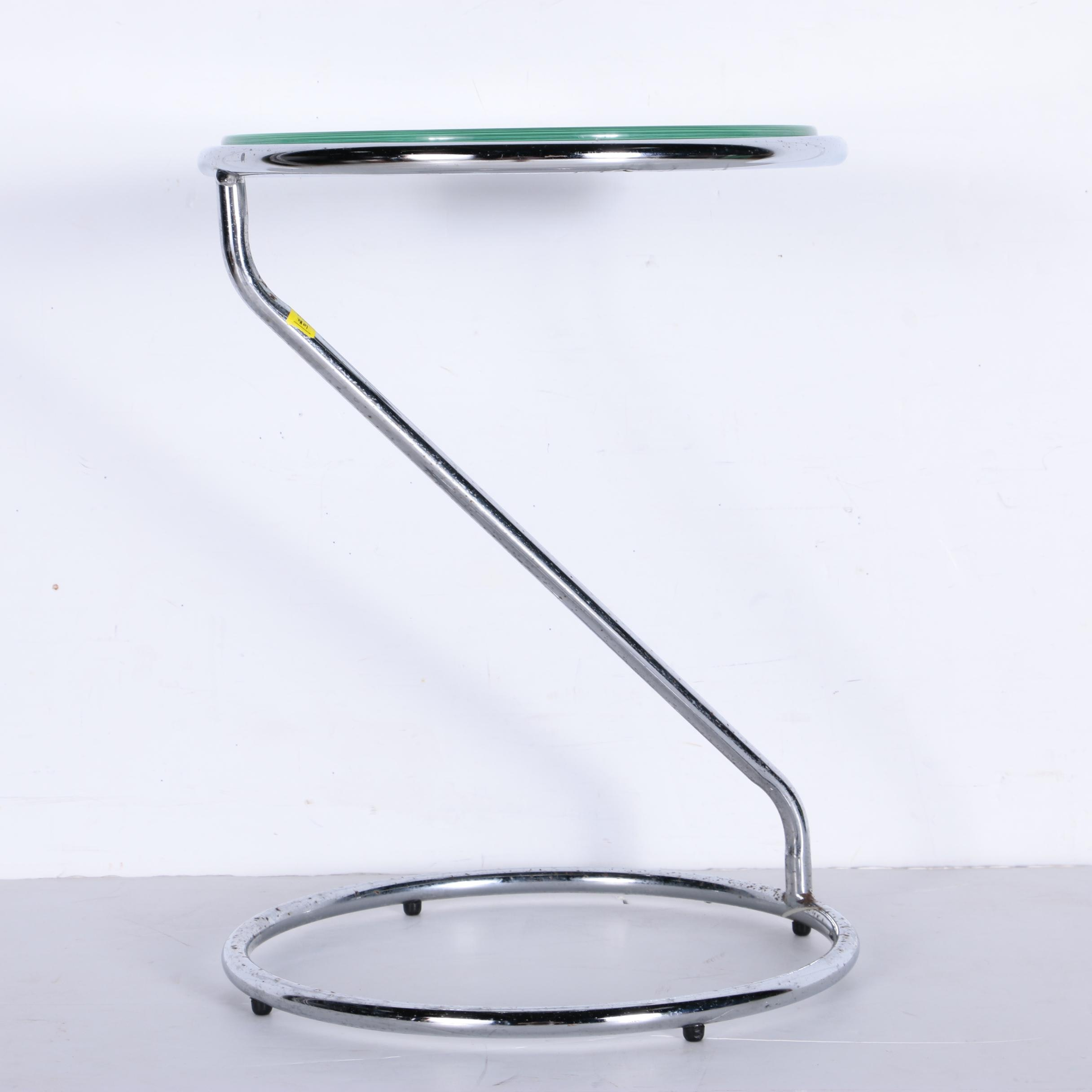 Modern Style Glass Side Table