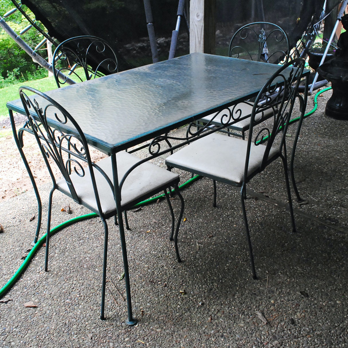 Patio Dining Table and Chairs