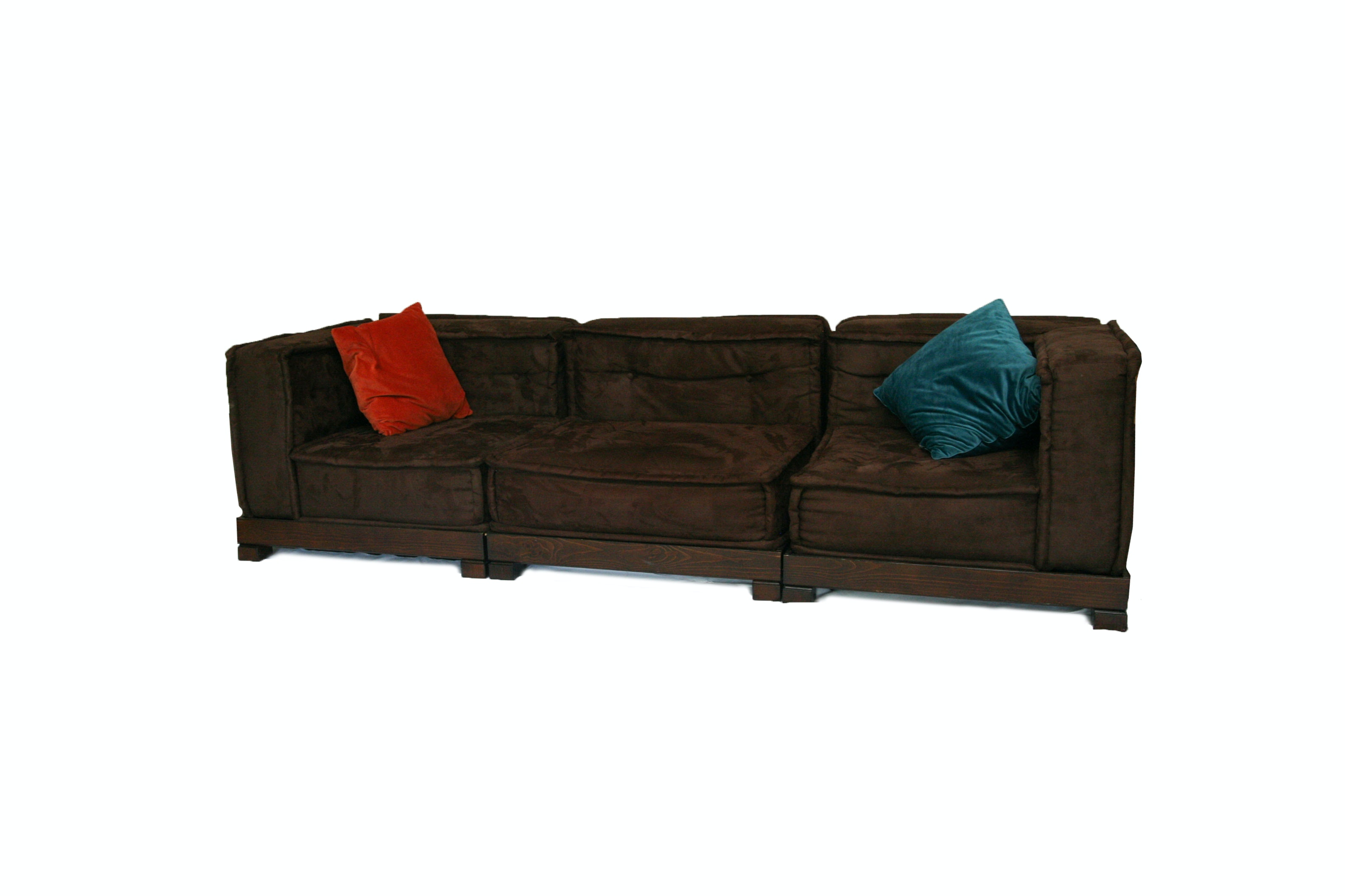 "Pottery Barn Teen  "" Comfy Lounge"" Sectional Sofa"