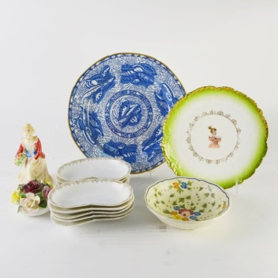Vintage Porcelain Dishware and Figurines