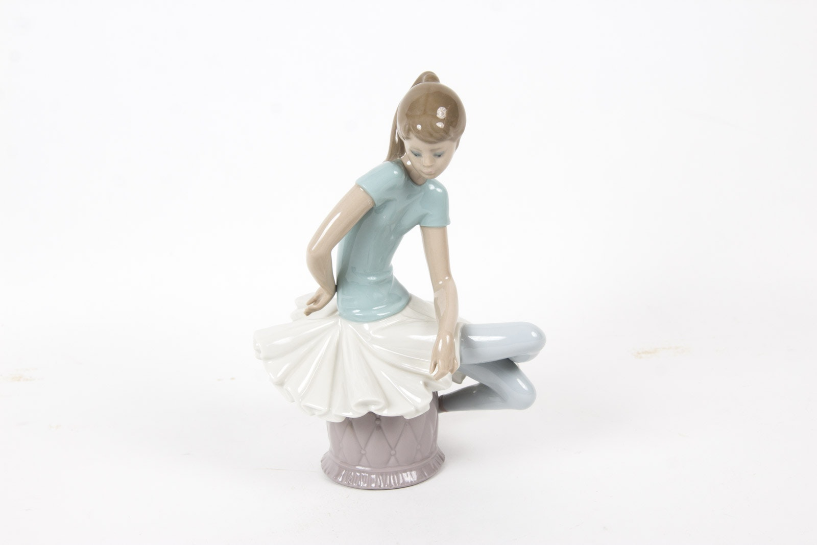 "Lladro ""Ballet Blue"" Ballerina Figurine"