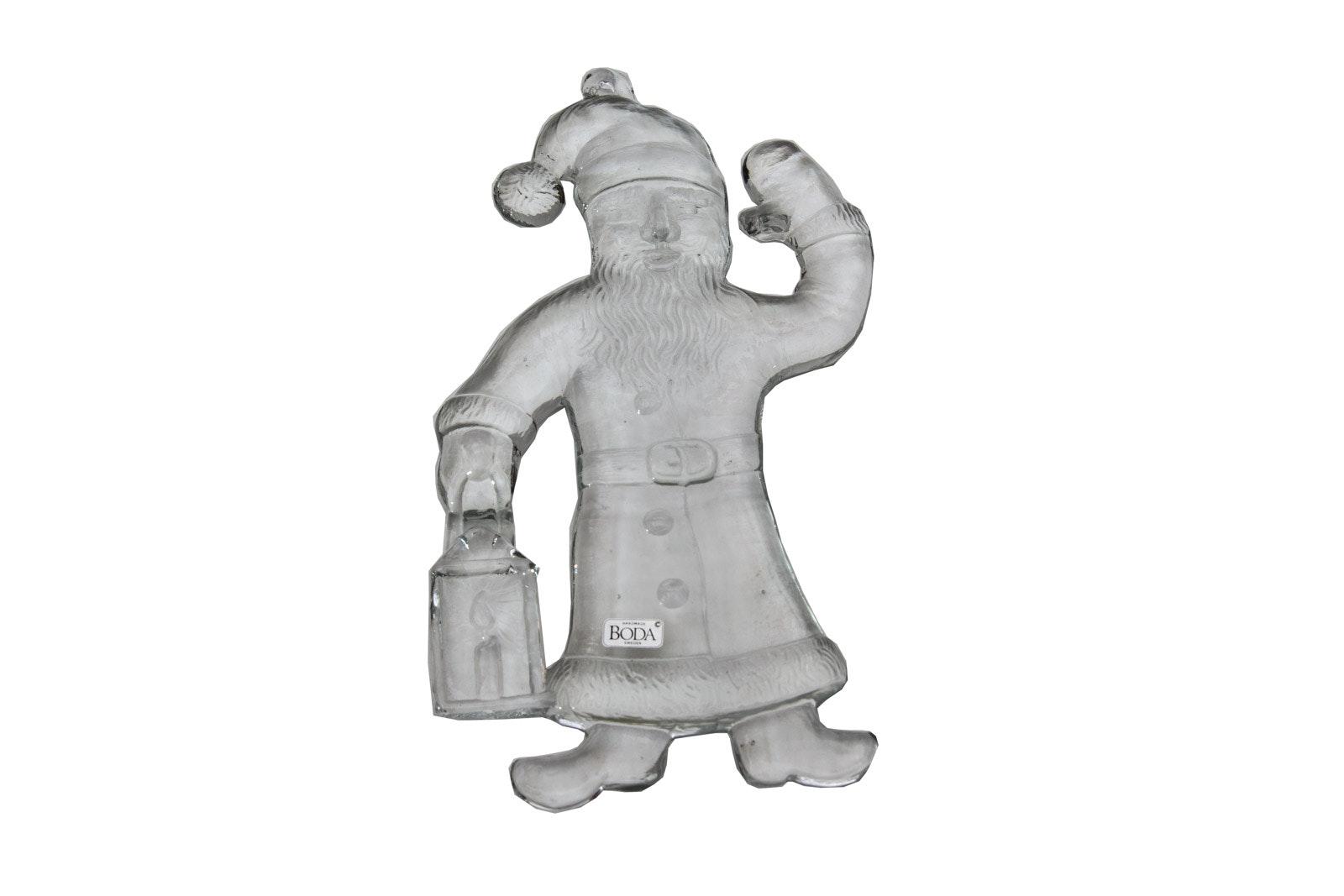 Boda Handmade Crystal Santa Claus