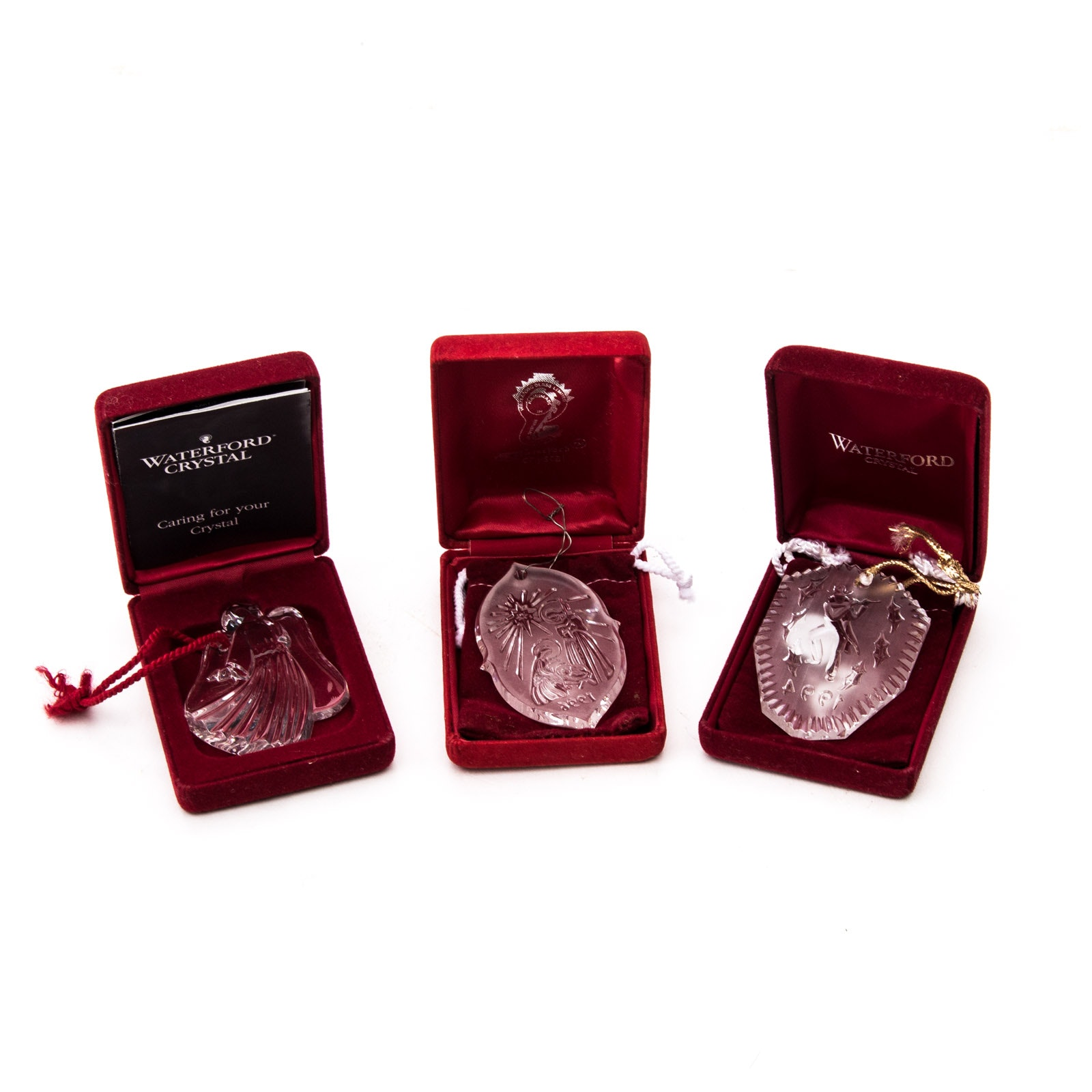 Waterford Crystal Ornament Collection