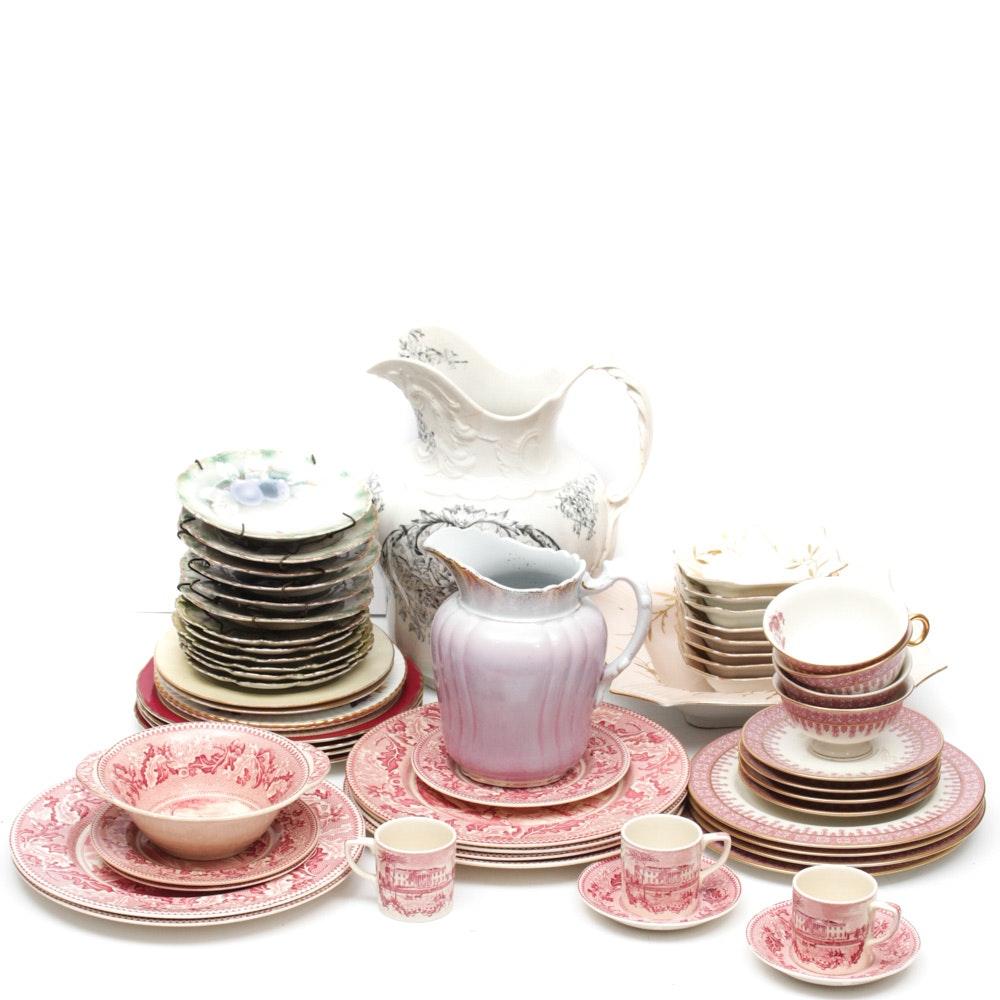 Coordinated Porcelain Tableware