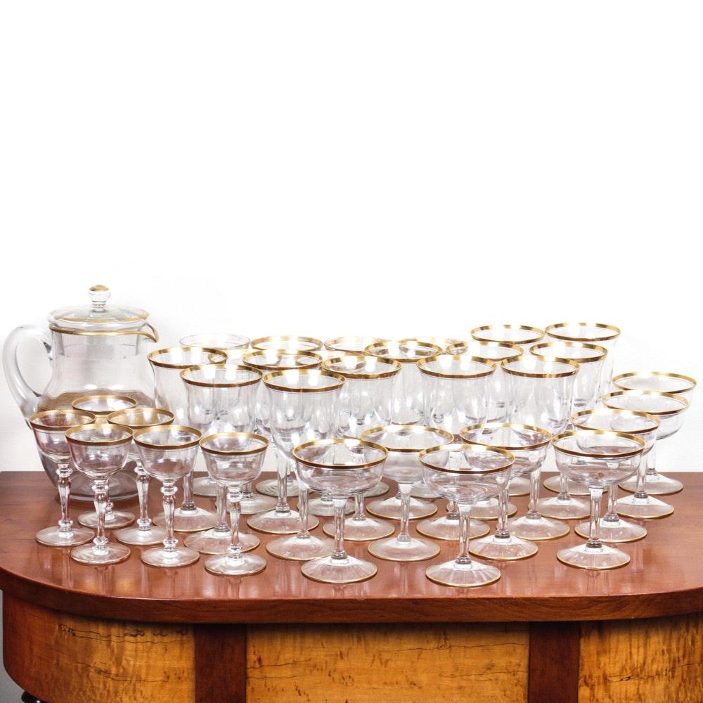 Assortment of Vintage Glassware