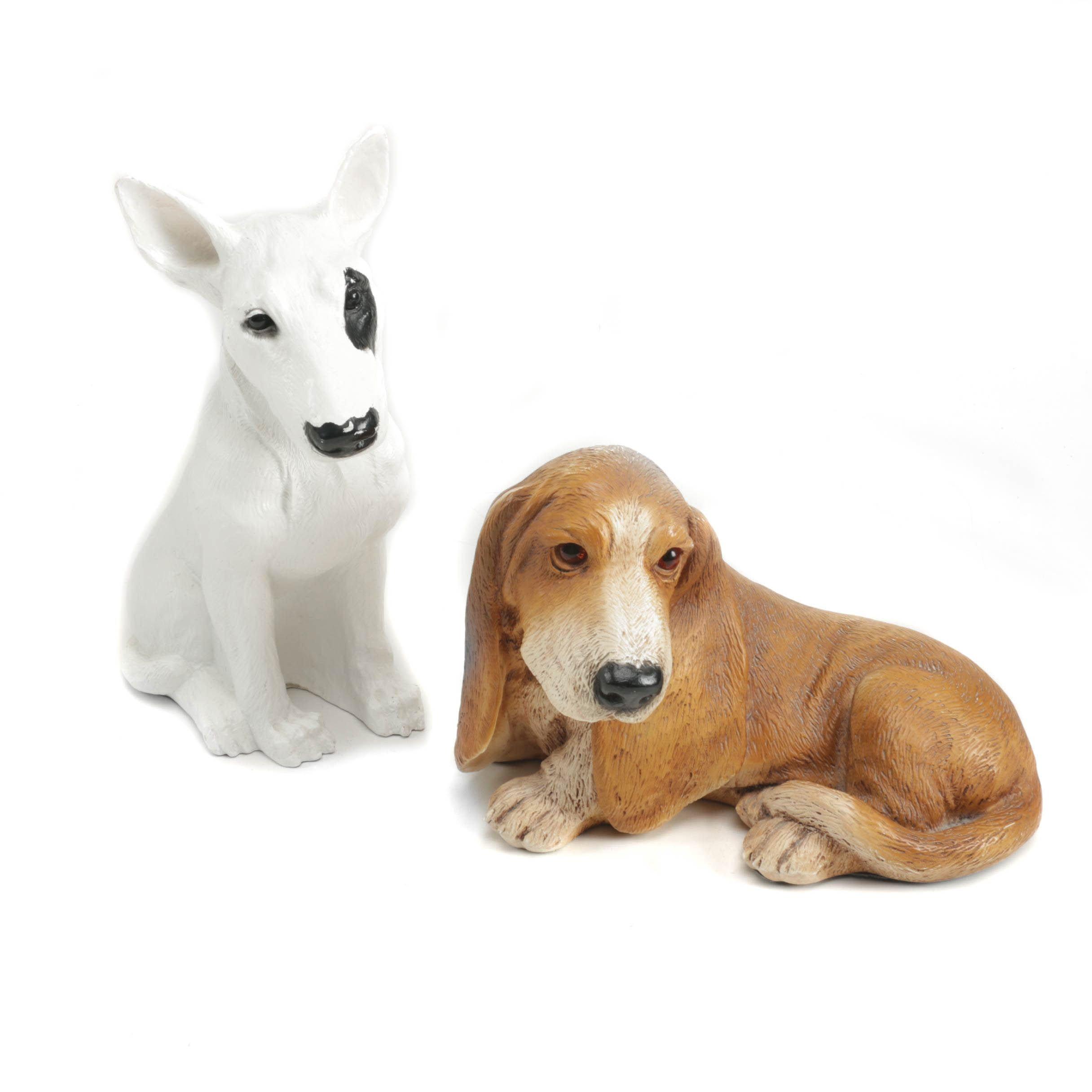 Pair of Ceramic Dog Figurines