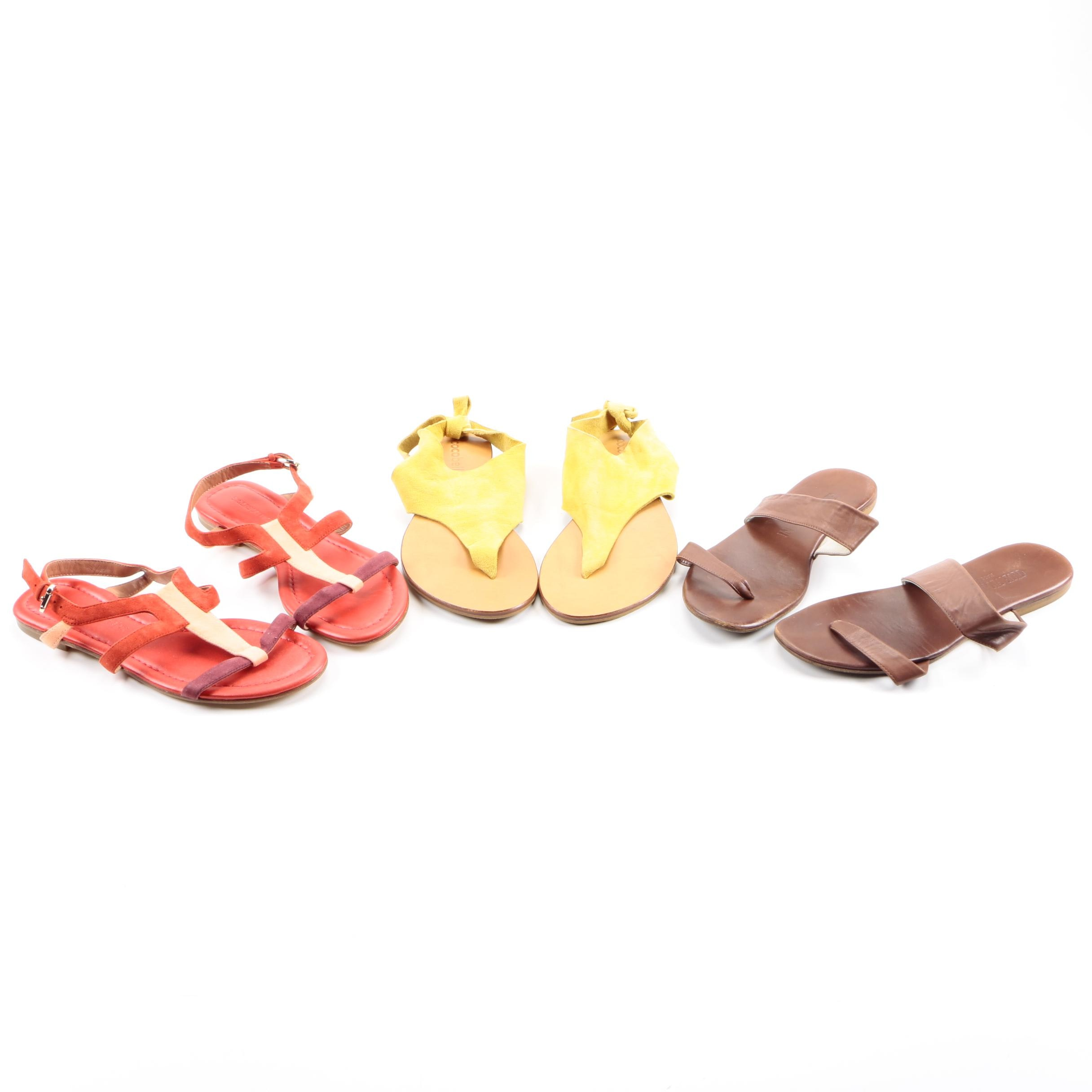 Assortment of Sandals featuring Giorgio Armani and Sigerson Morrison
