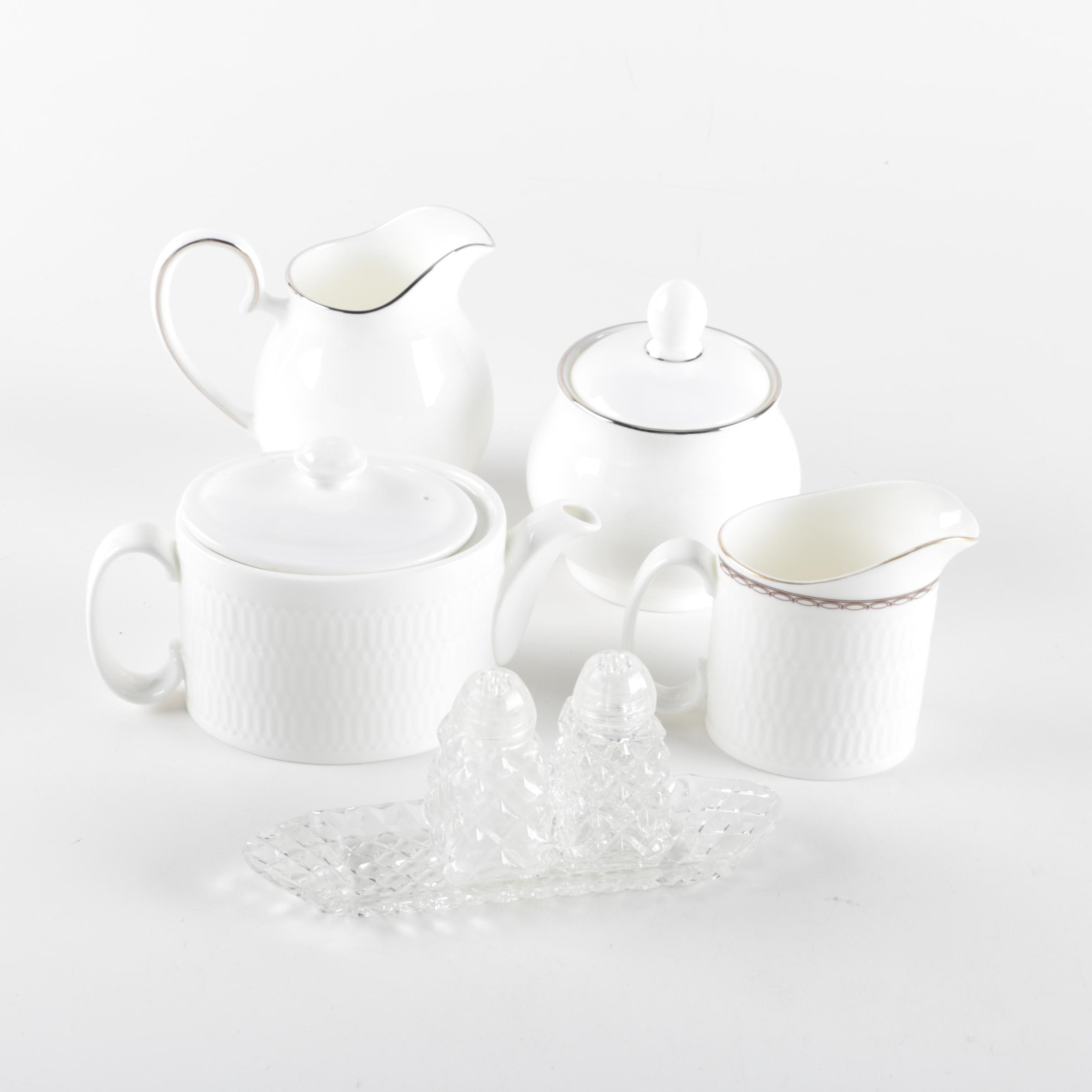 Porcelain and Glass Serveware