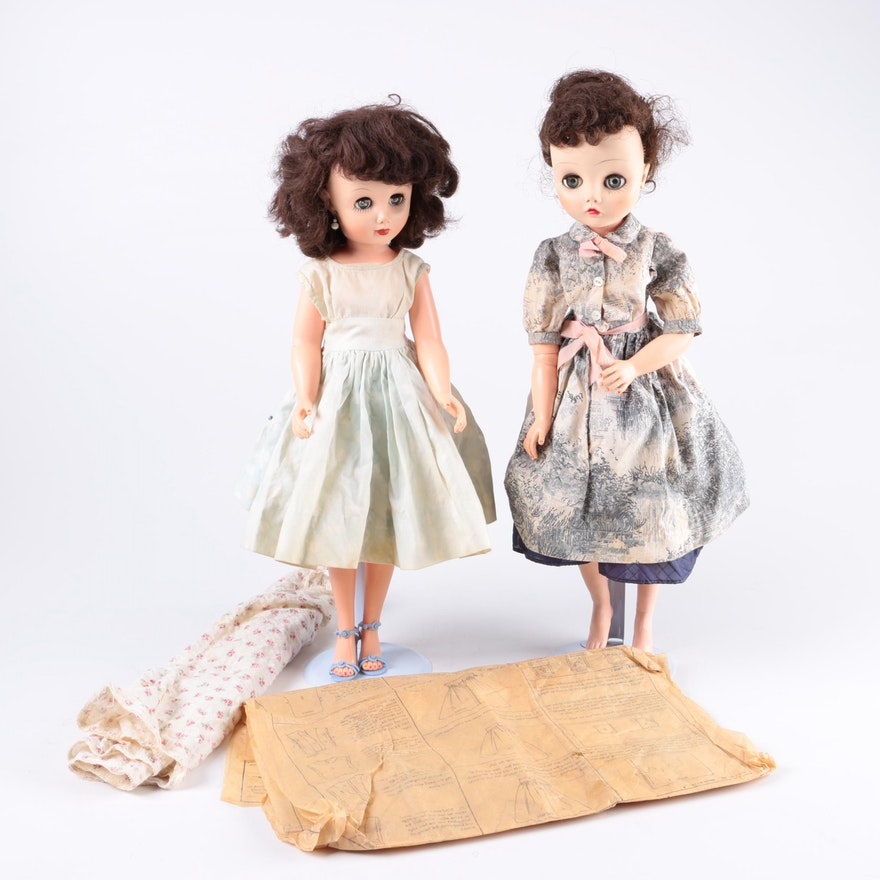 Madame Alexander Dolls with Sew Easy Doll Pattern : EBTH
