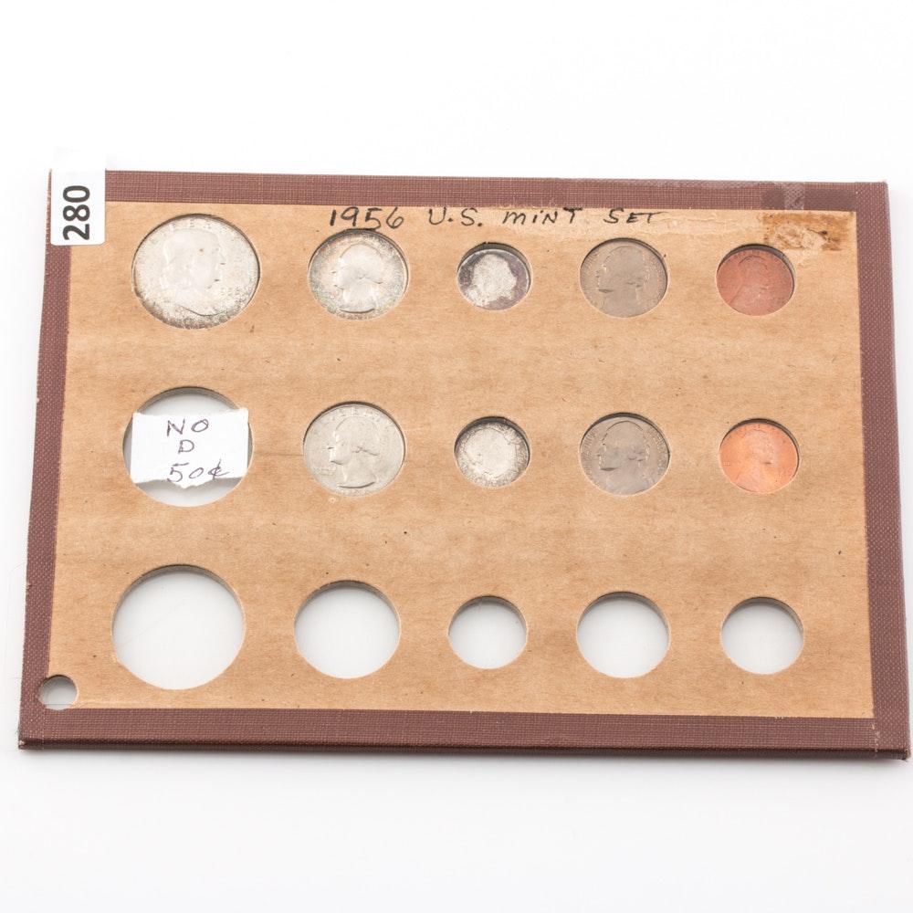 1956-P & D U.S. Type Set