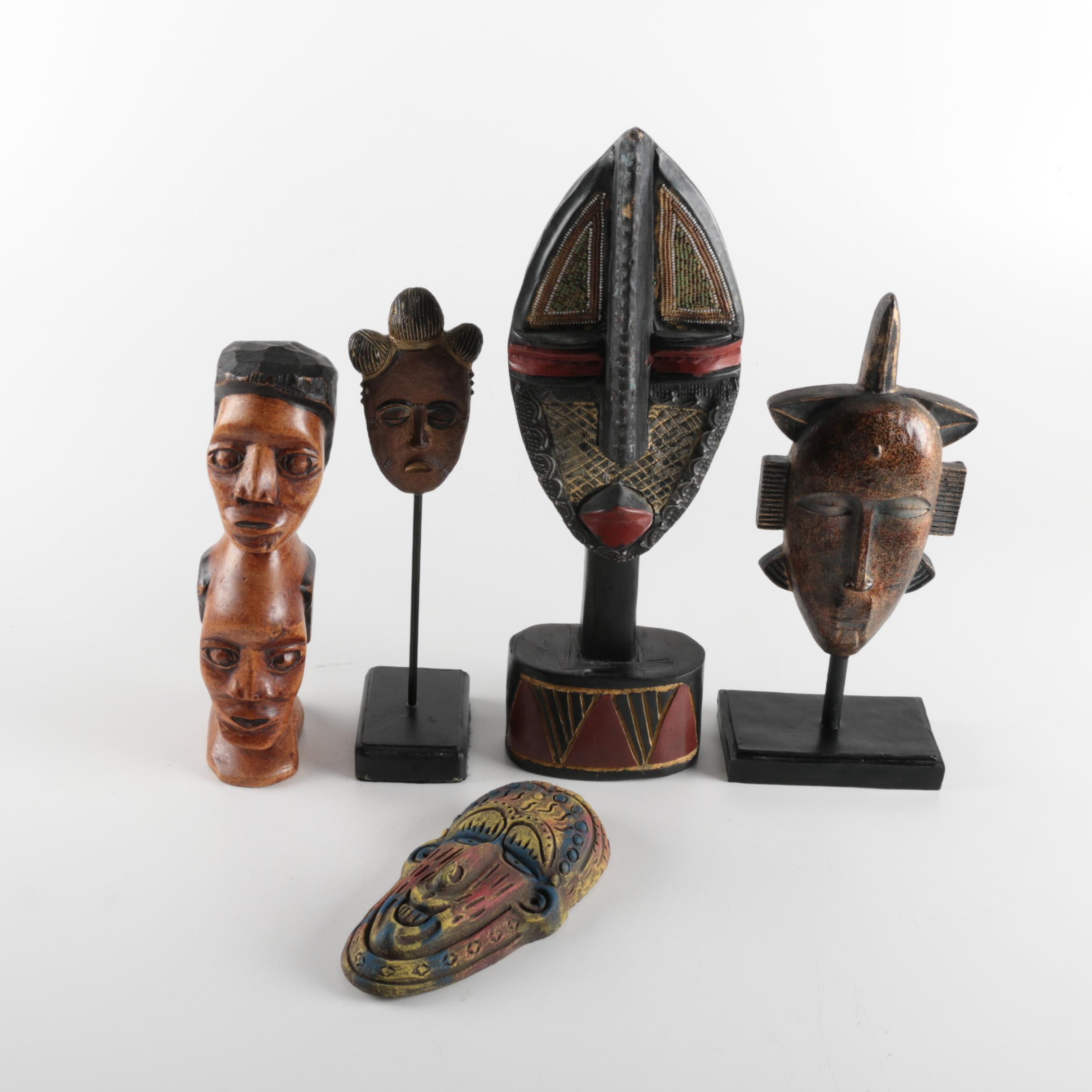 Assorted African Decor