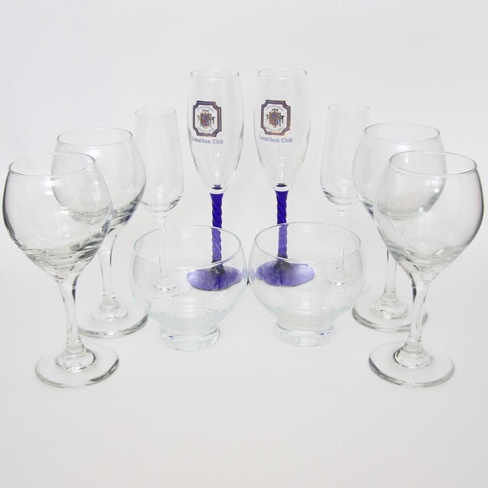 Assortment of Drinkware