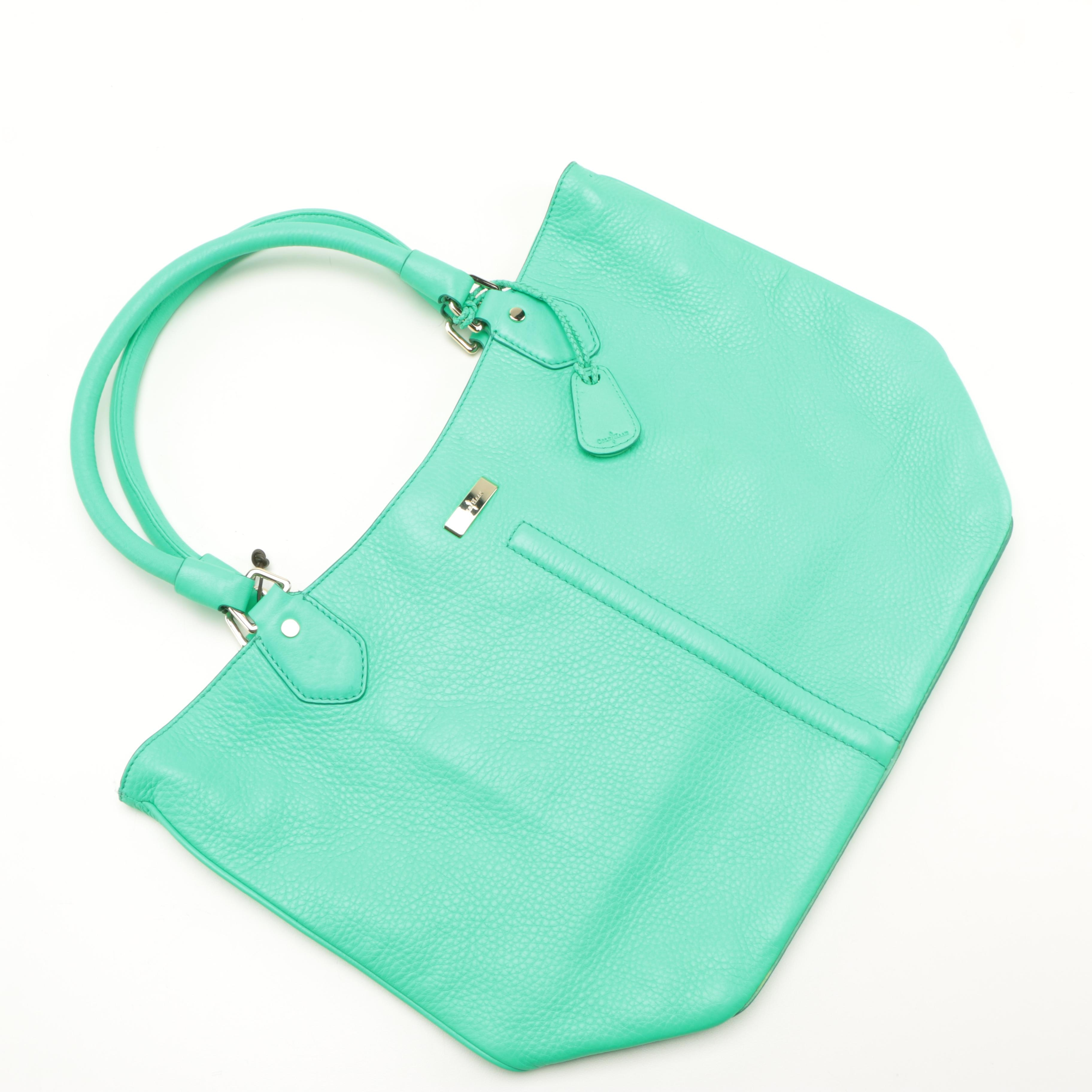 Cole Haan Serena Mint Leather Tote