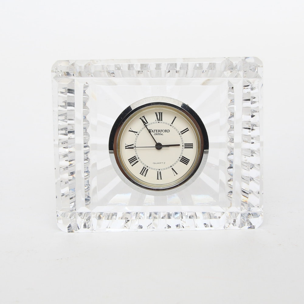Waterford Crystal Shelf Clock