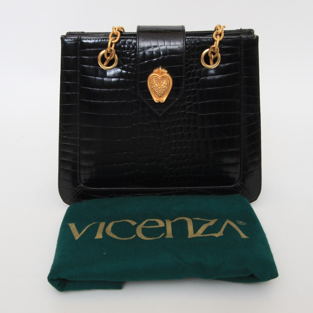Vicenza Purse with Gilt Details