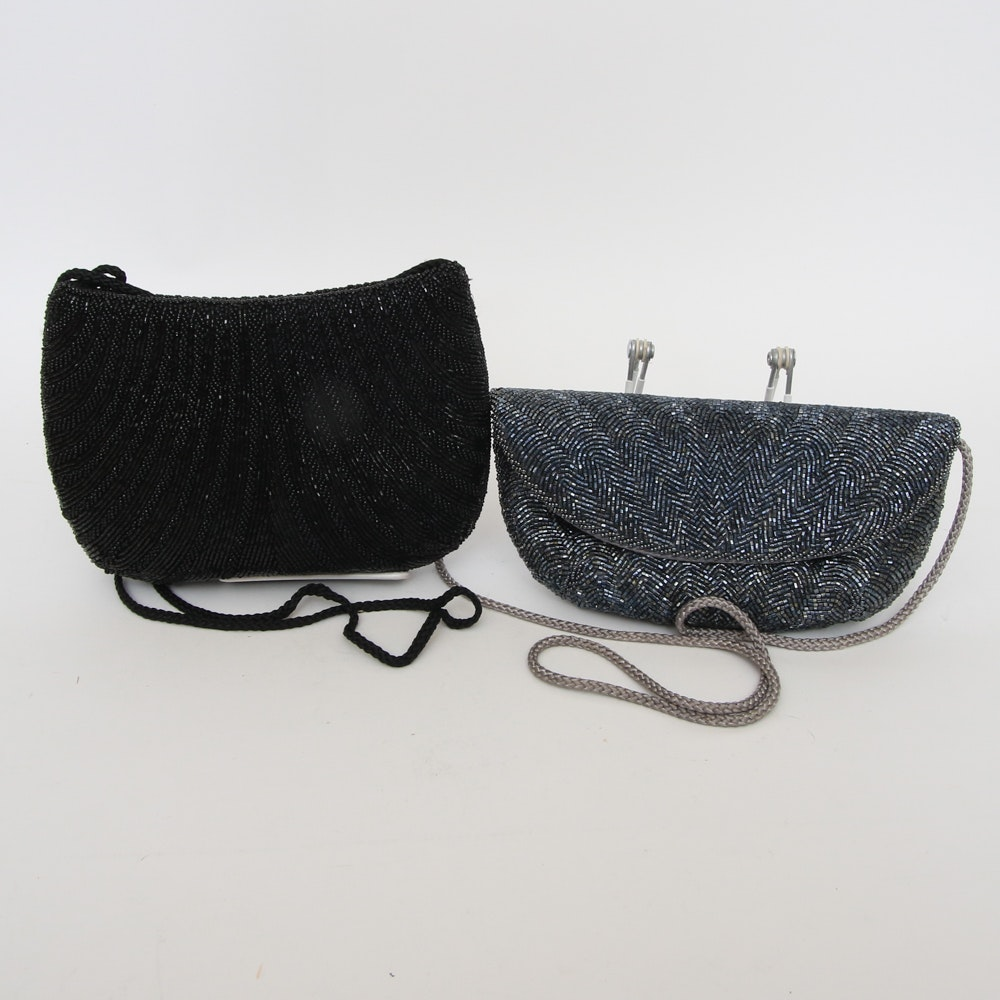 Two Beaded Evening Purses Including Jay Herbert