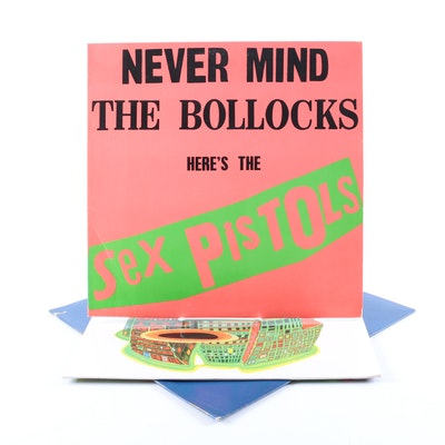 "Sex Pistols and Public Image Limited LPs Including ""Bollocks"" Misprint"
