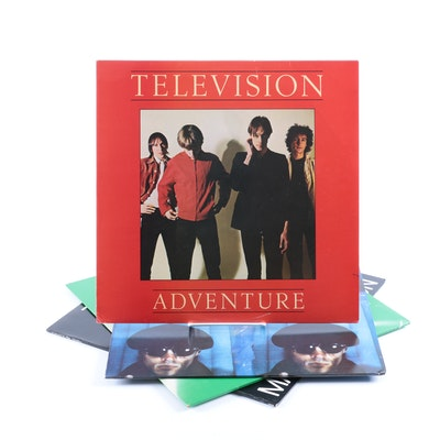 "Television and Tom Verlaine LPs Including ""Marquee Moon"" Original Pressing"