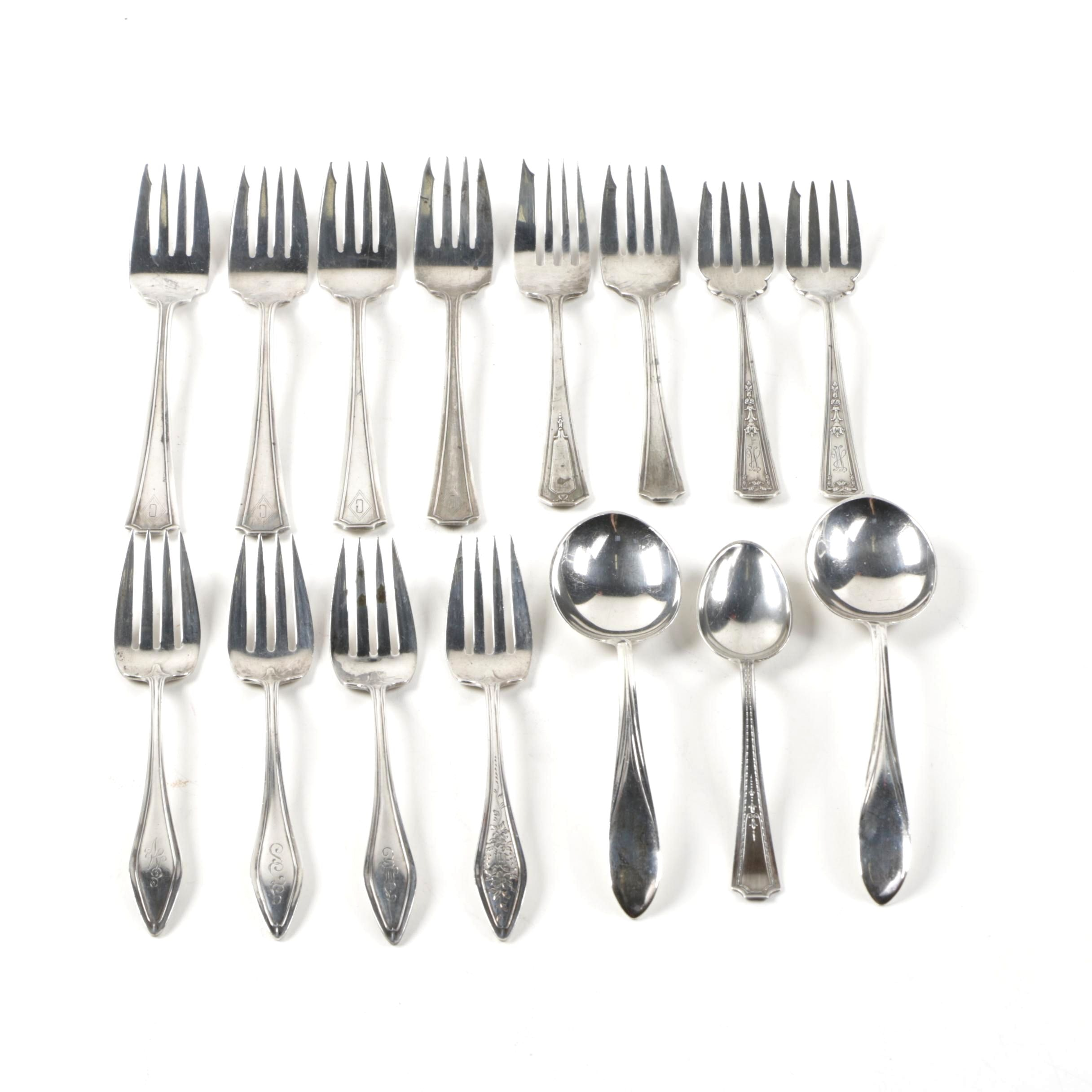 Sterling Silver Flatware Assortment
