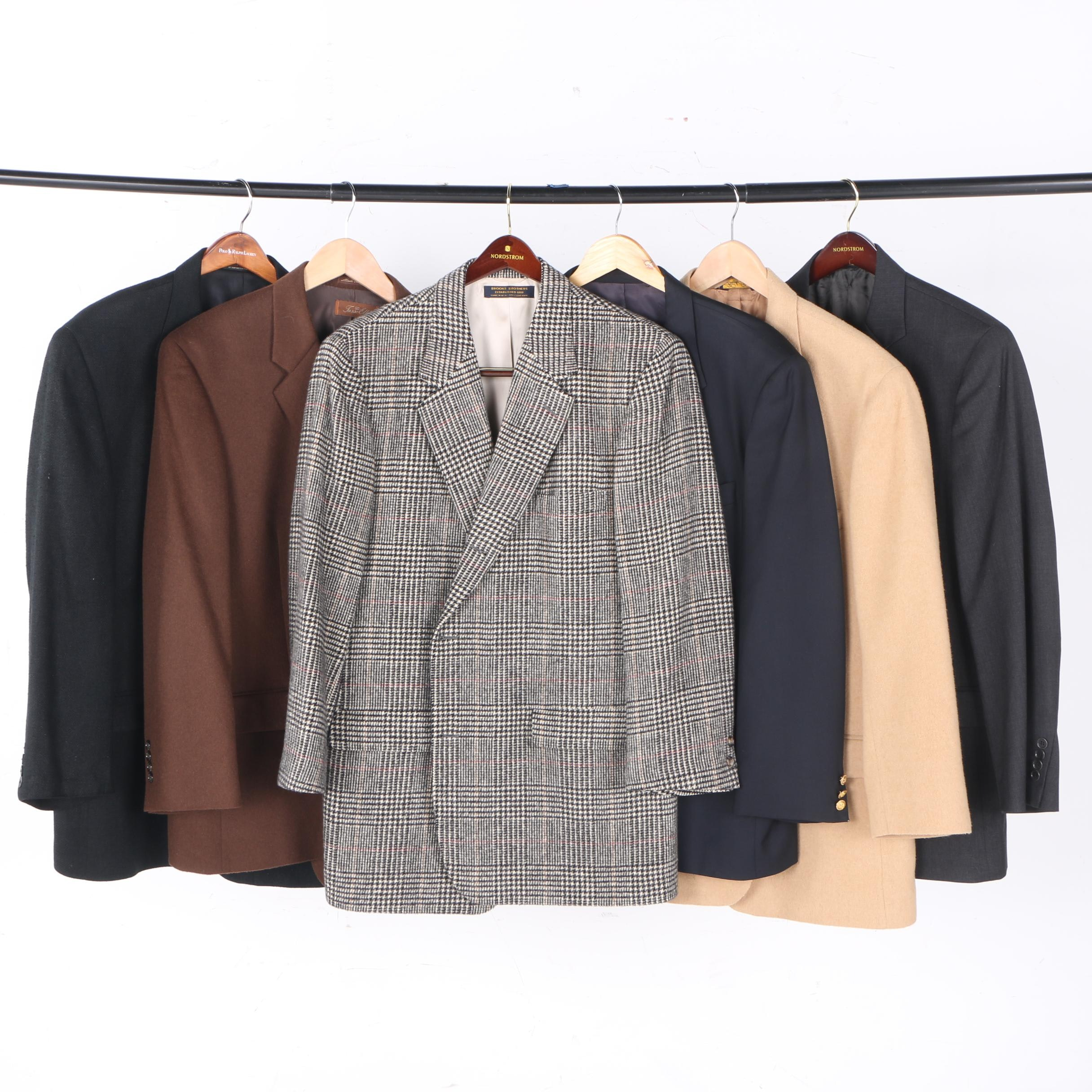 Men's Blazers and Suit Including Brooks Brothers