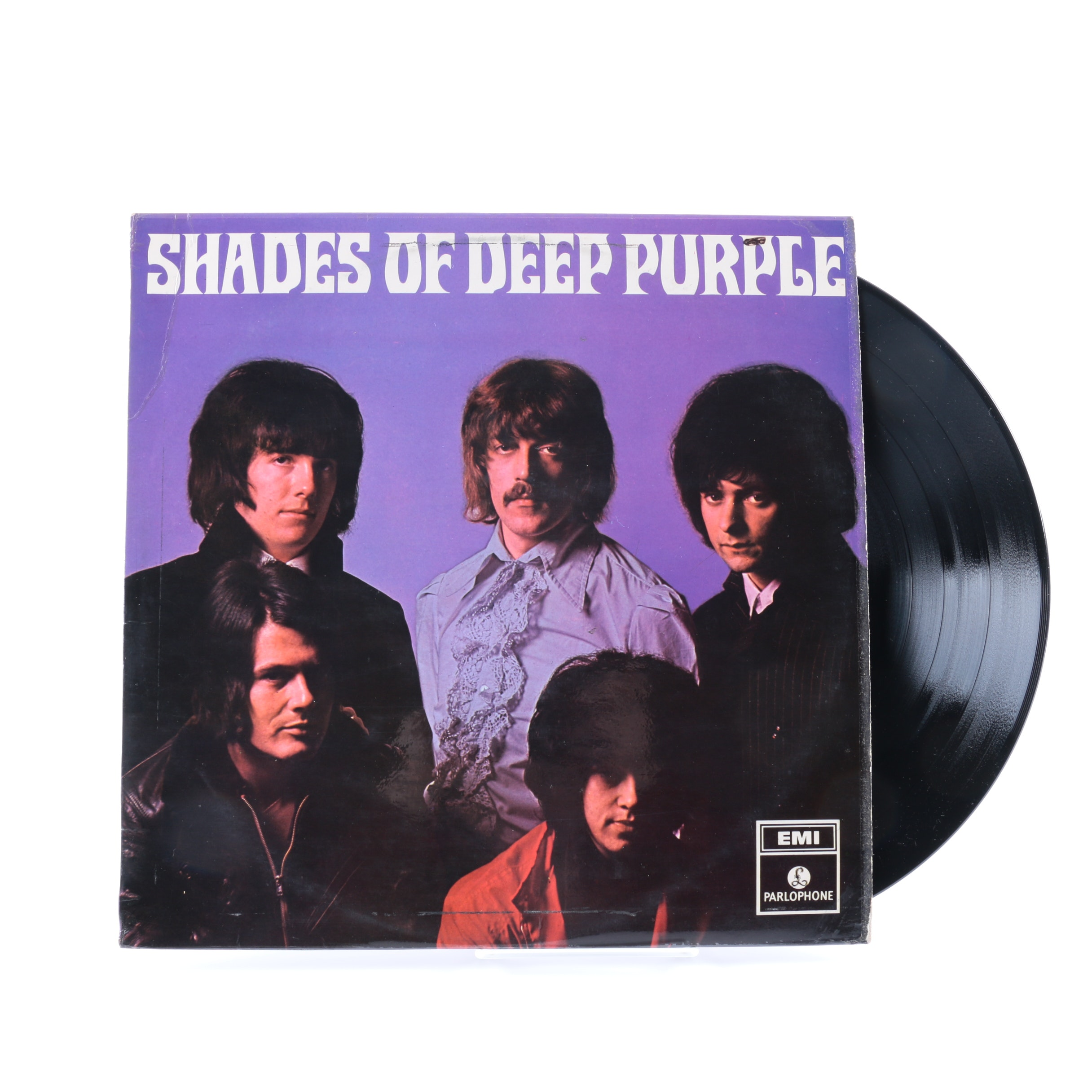 "Deep Purple ""Shades Of Deep Purple"" Original UK Parlophone Pressing LP"