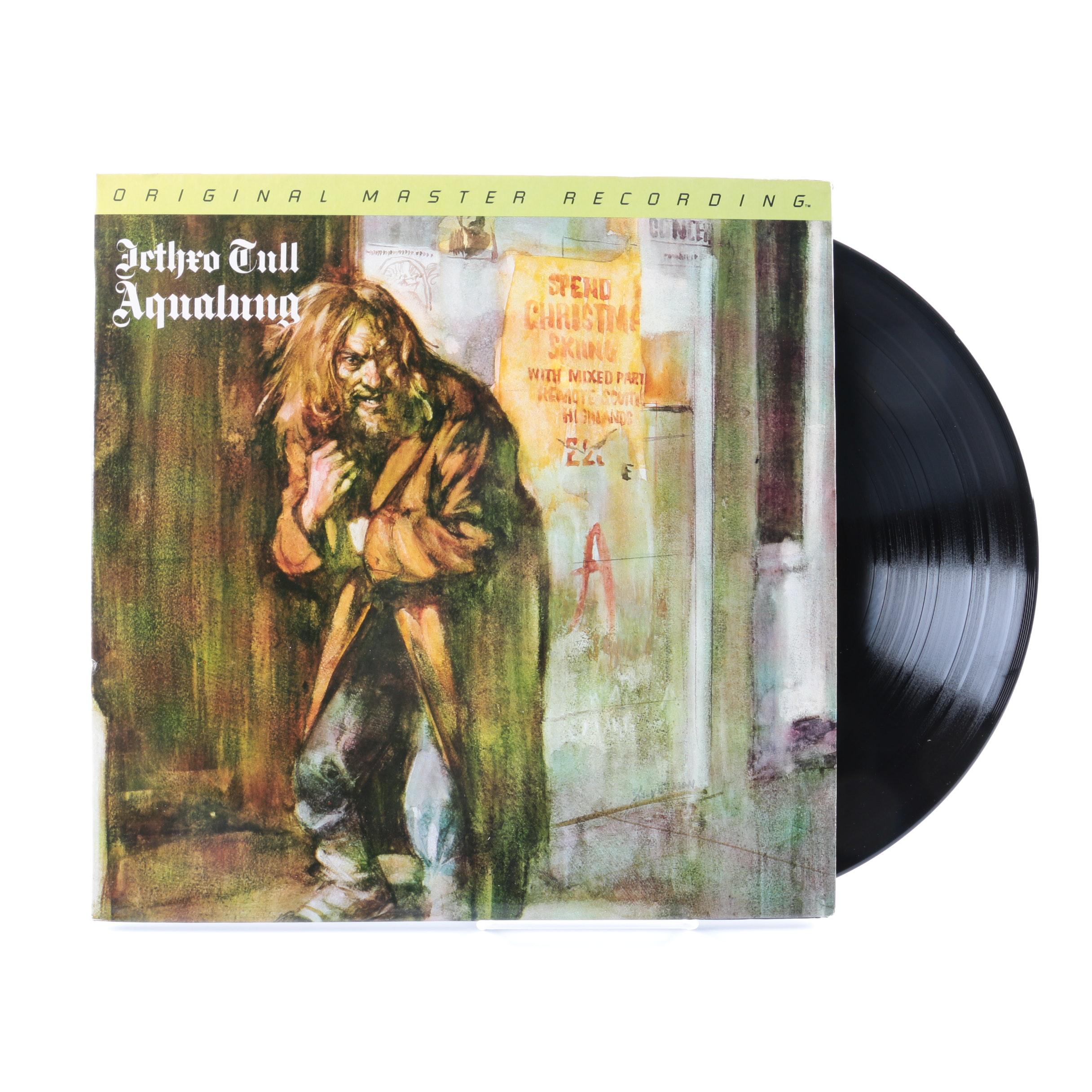 """Jethro Tull """"Aqualung"""" Original Master Recording LP"""