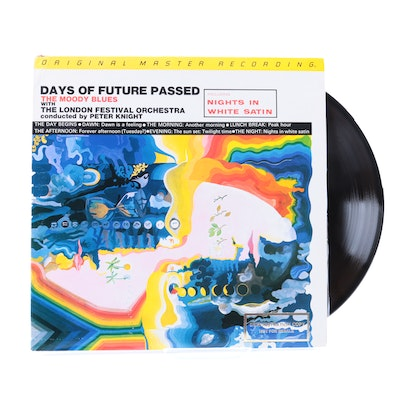 "Moody Blues ""Days of Future Passed"" Original Master Recording LP"