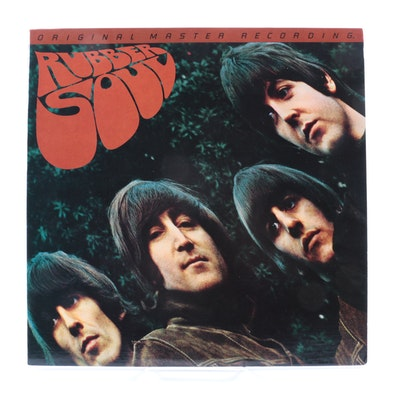 "The Beatles ""Rubber Soul"" Original Master Recording LP"