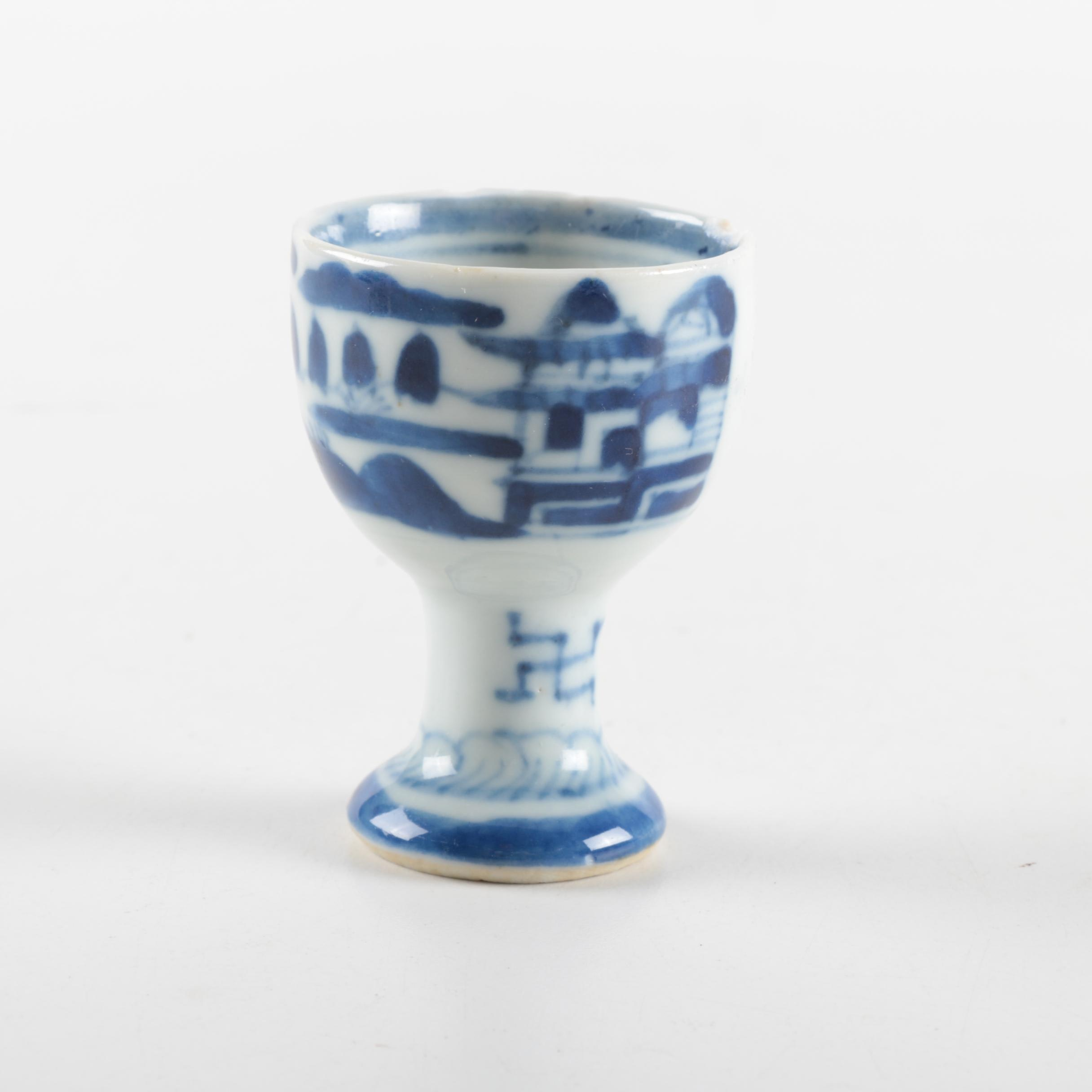Chinese Ceramic Egg Cup