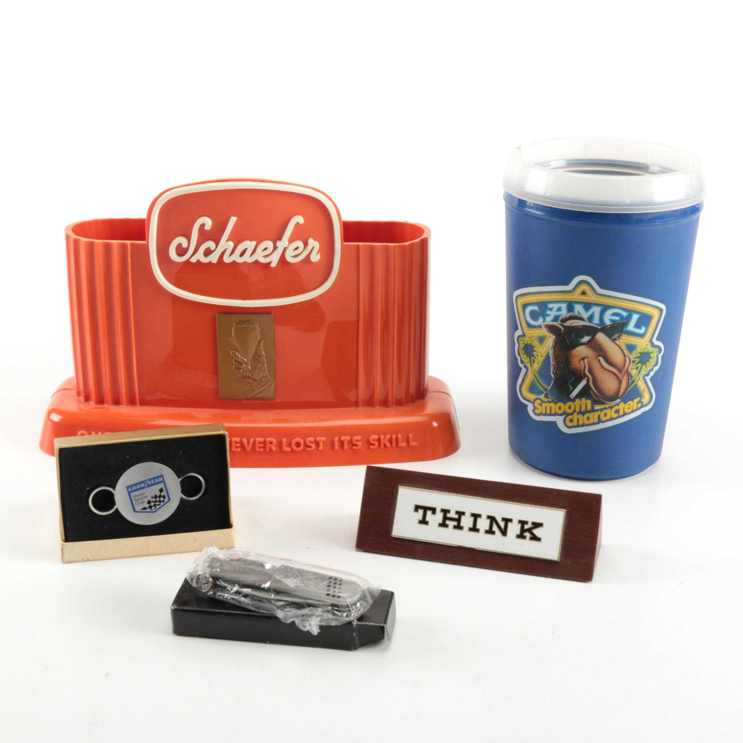 Assortment of Beer and Smoking Memorabilia