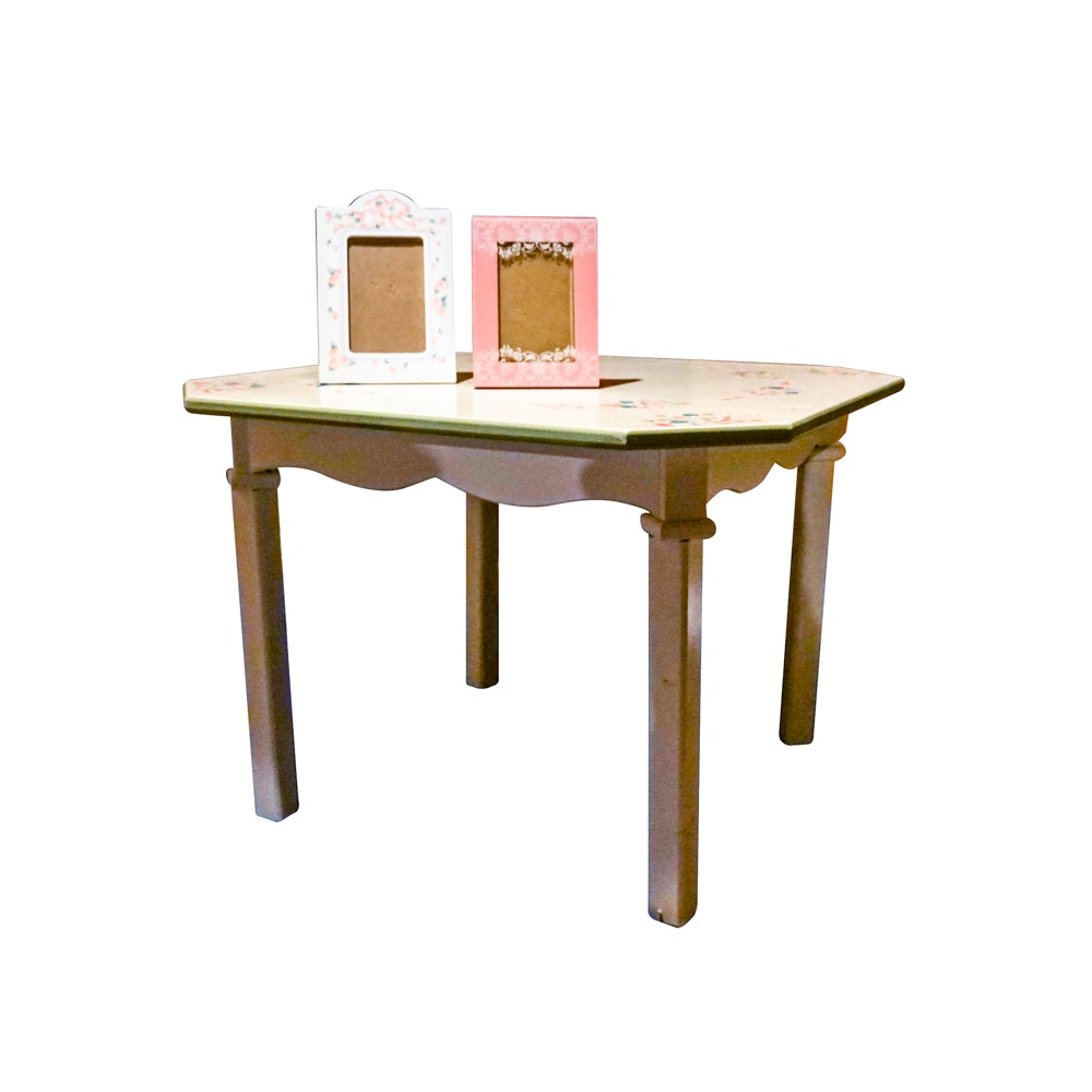 Child's Table with Two Frames