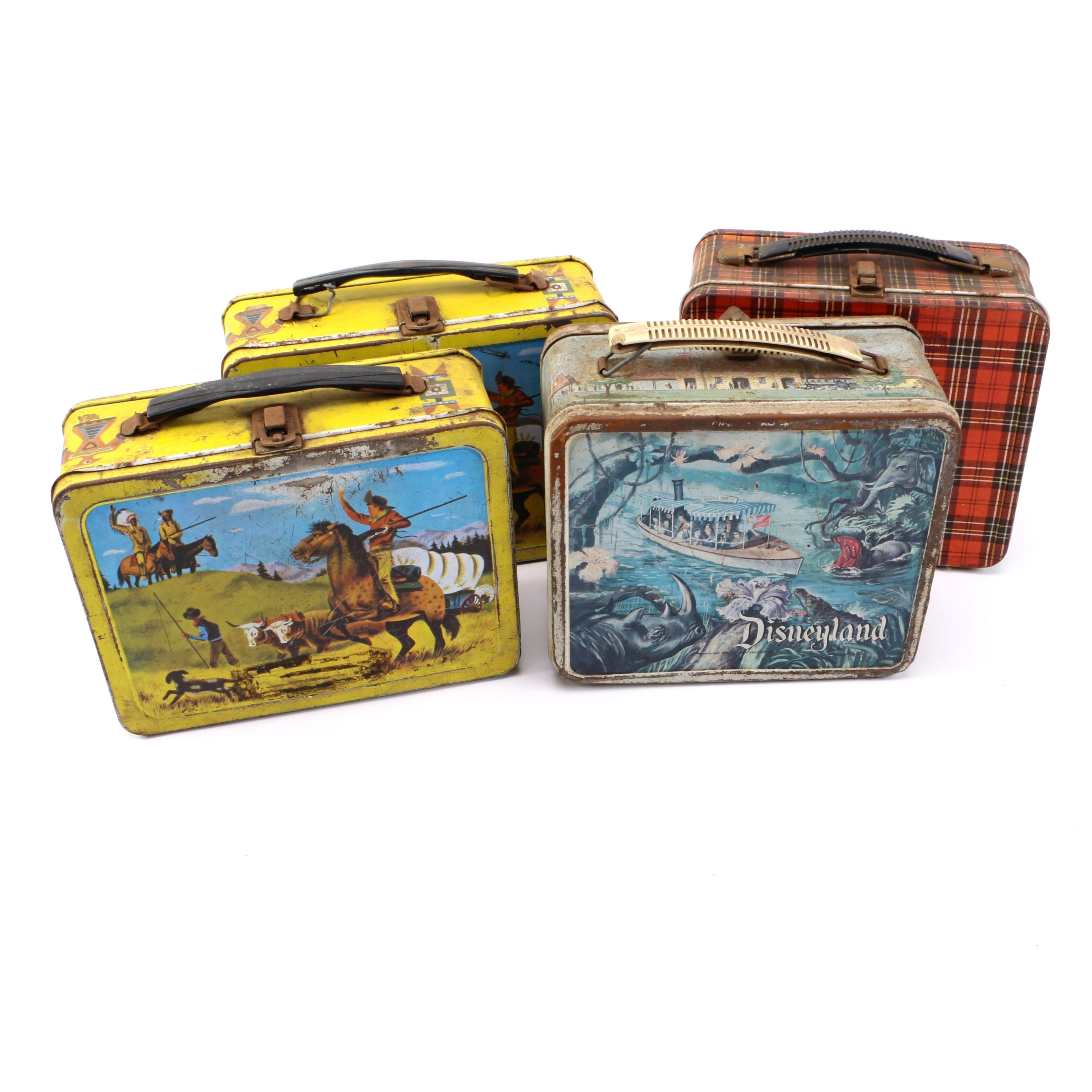 Collection of Four Lunch Boxes