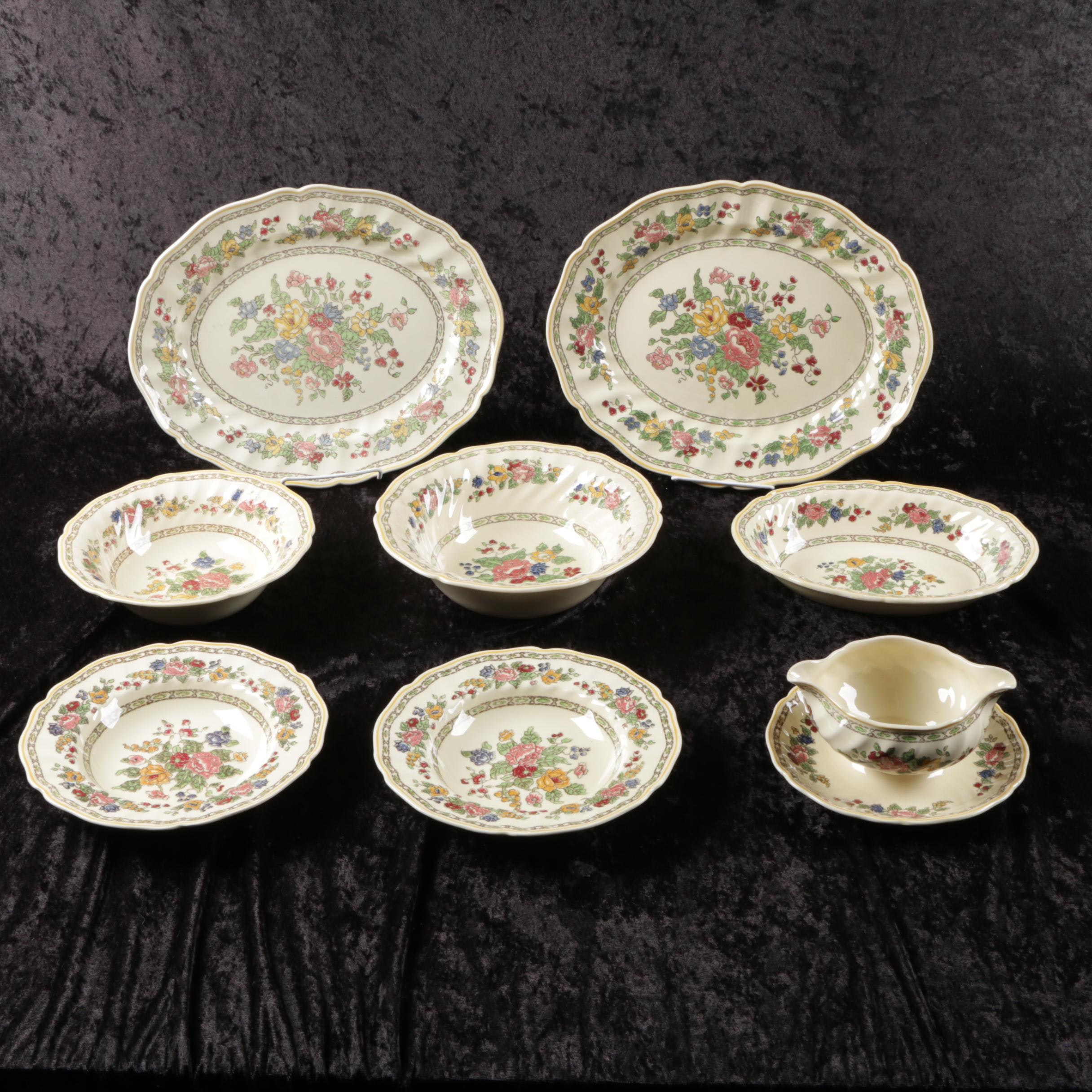 "Vintage Royal Doulton ""The Cavendish"" Ceramic Serveware"