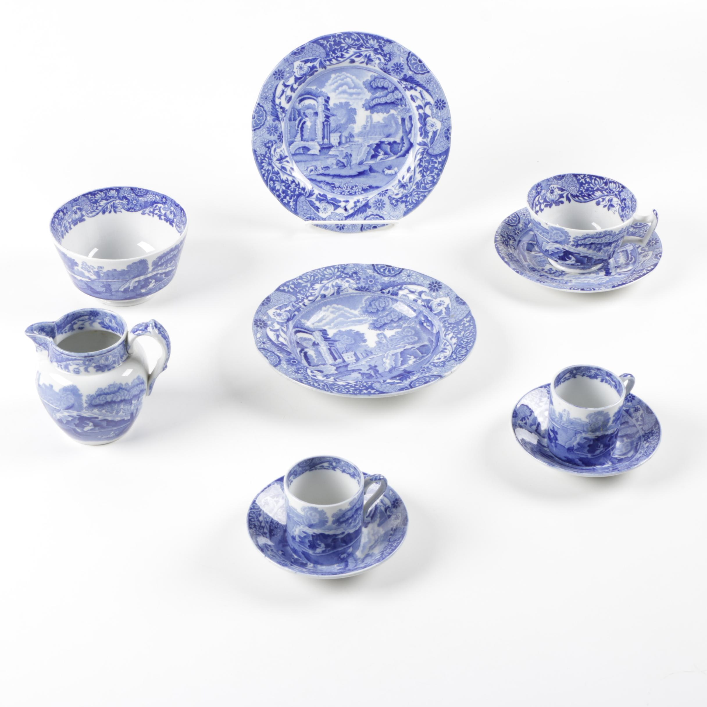 "Spode 'Italian"" Ceramic Tableware"