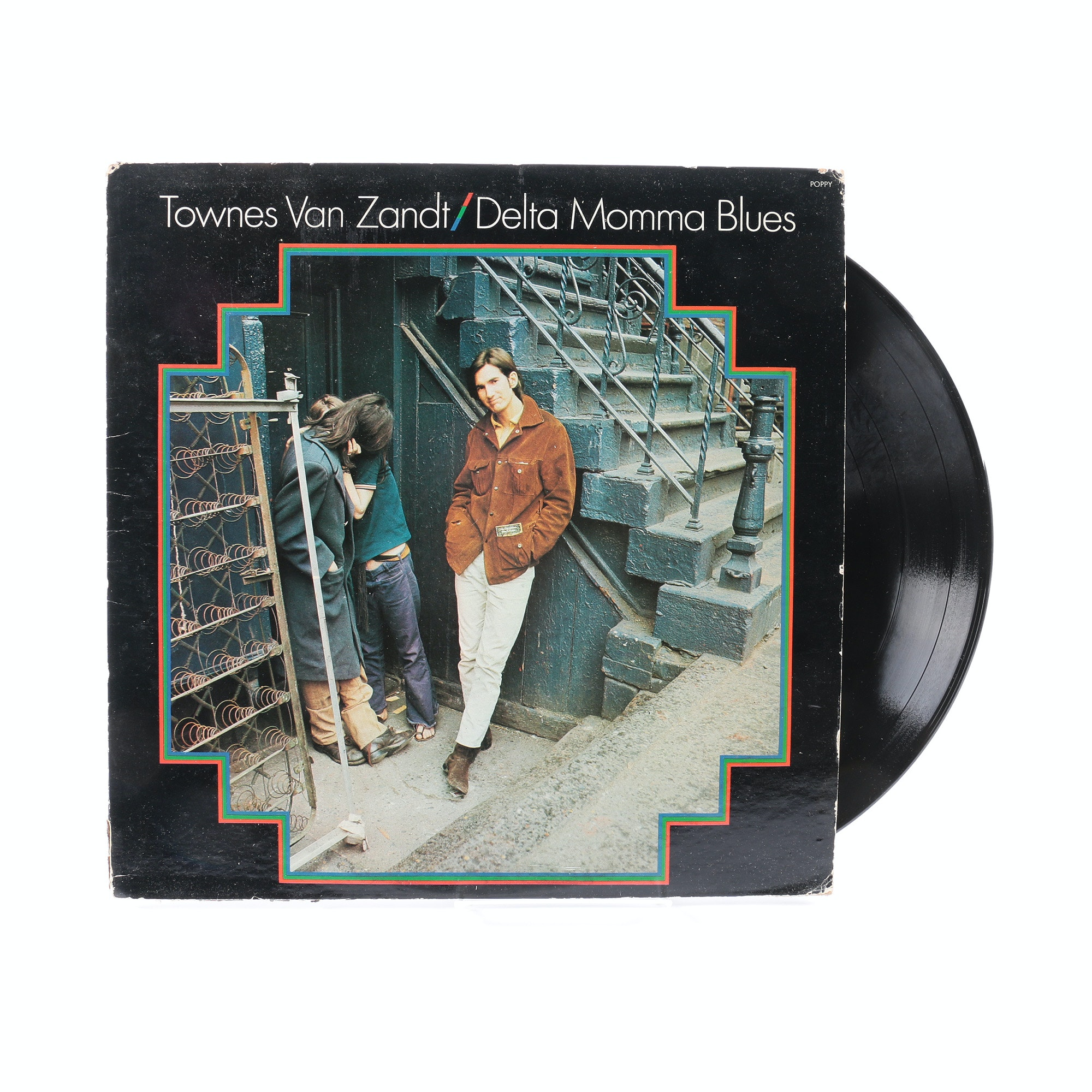 "Townes Van Zandt ""Delta Momma Blues"" Promotional Poppy Records LP"