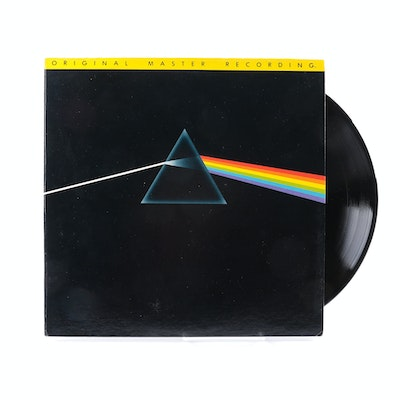 "Pink Floyd ""Dark Side of the Moon"" Original Master Recording LP"