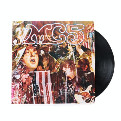 "MC5 ""Kick Out The Jams"" Original French Pressing LP"