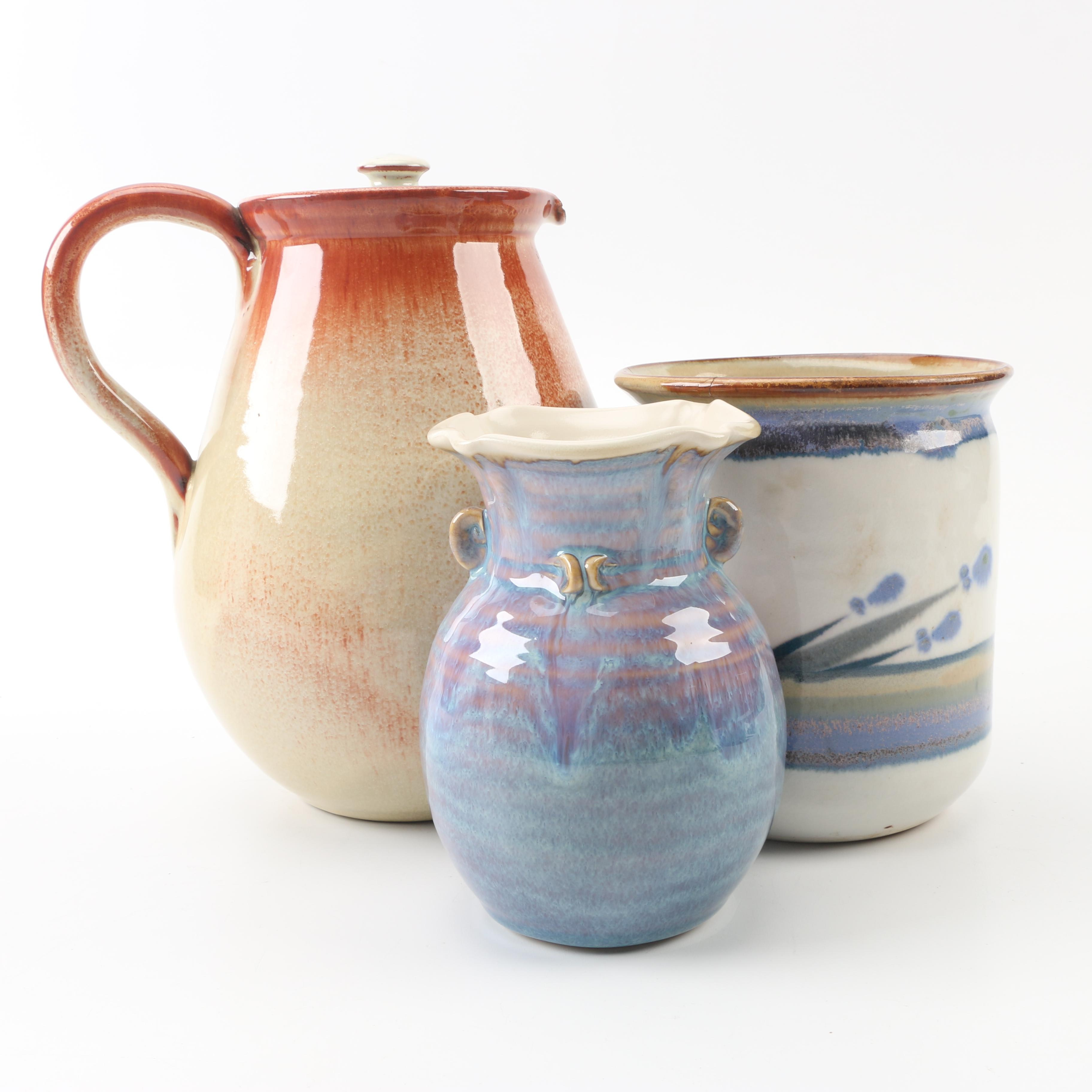 Laconia and Aurora and Other Studio Pottery