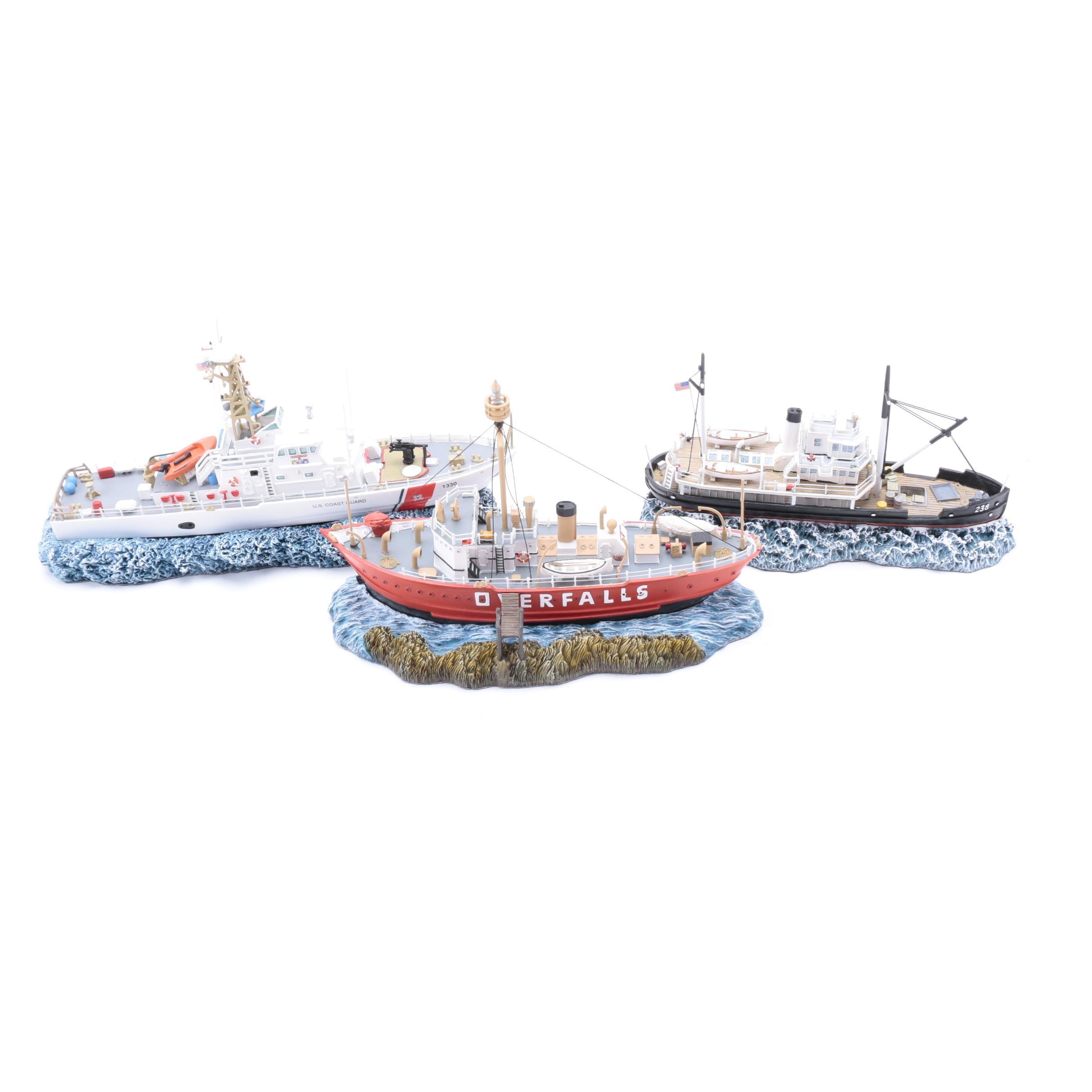 Anchor Bay Limited Edition Ship Models