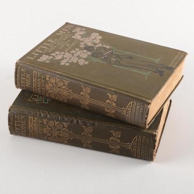 """1906 """"Little Women"""" and 1907 """"Little Men"""" by Louisa M. Alcott"""
