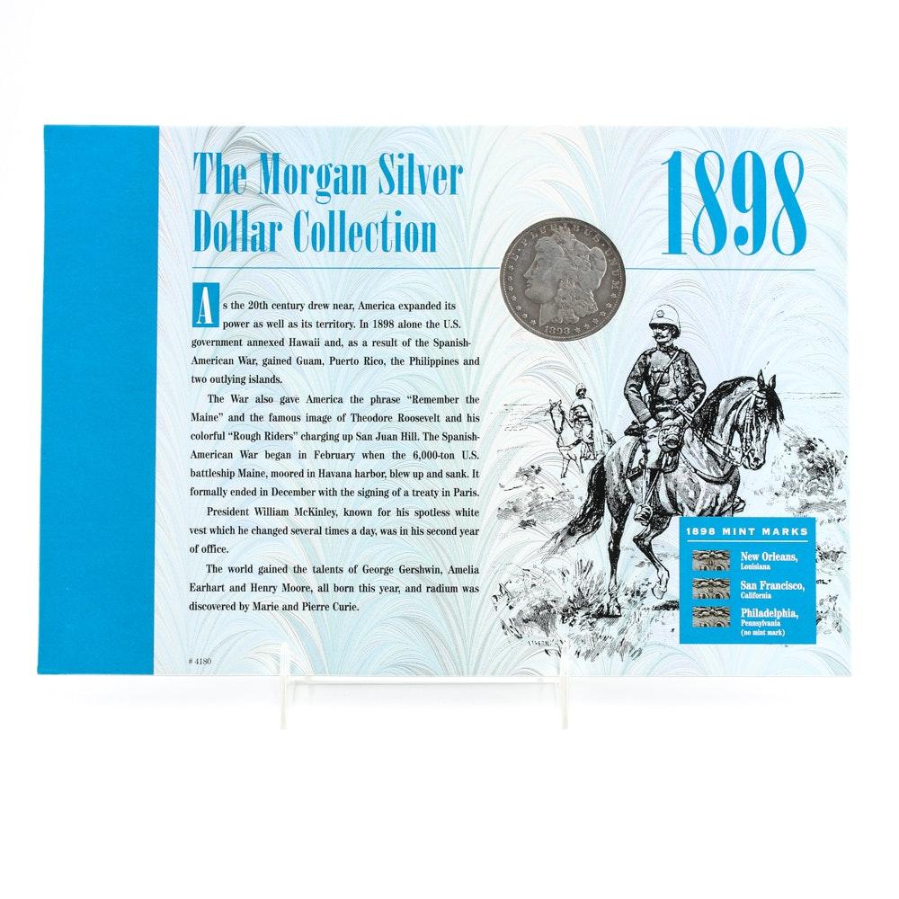 1898 S Silver Morgan Dollar