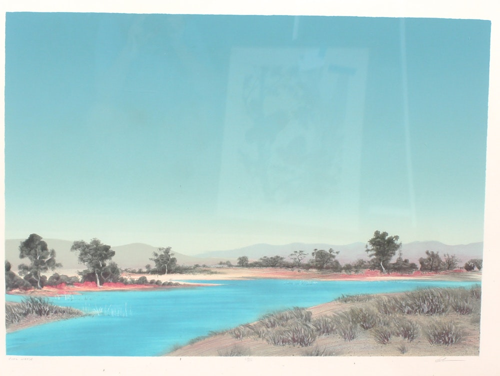 """Cool Waters"" Serigraph"