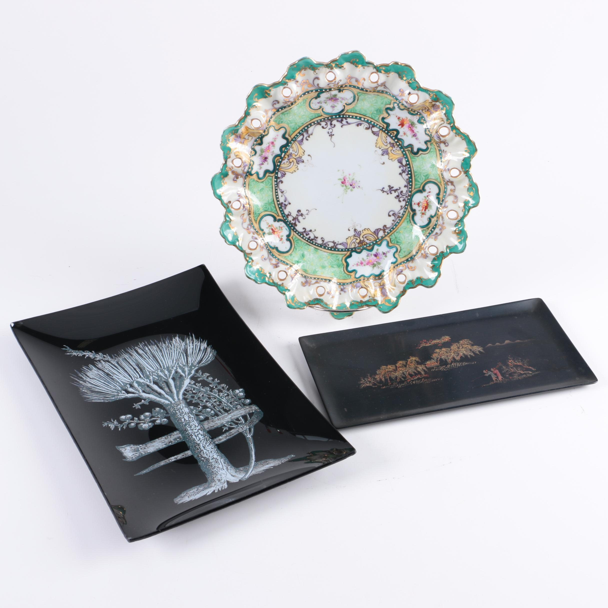 Decorative Plate and Trays