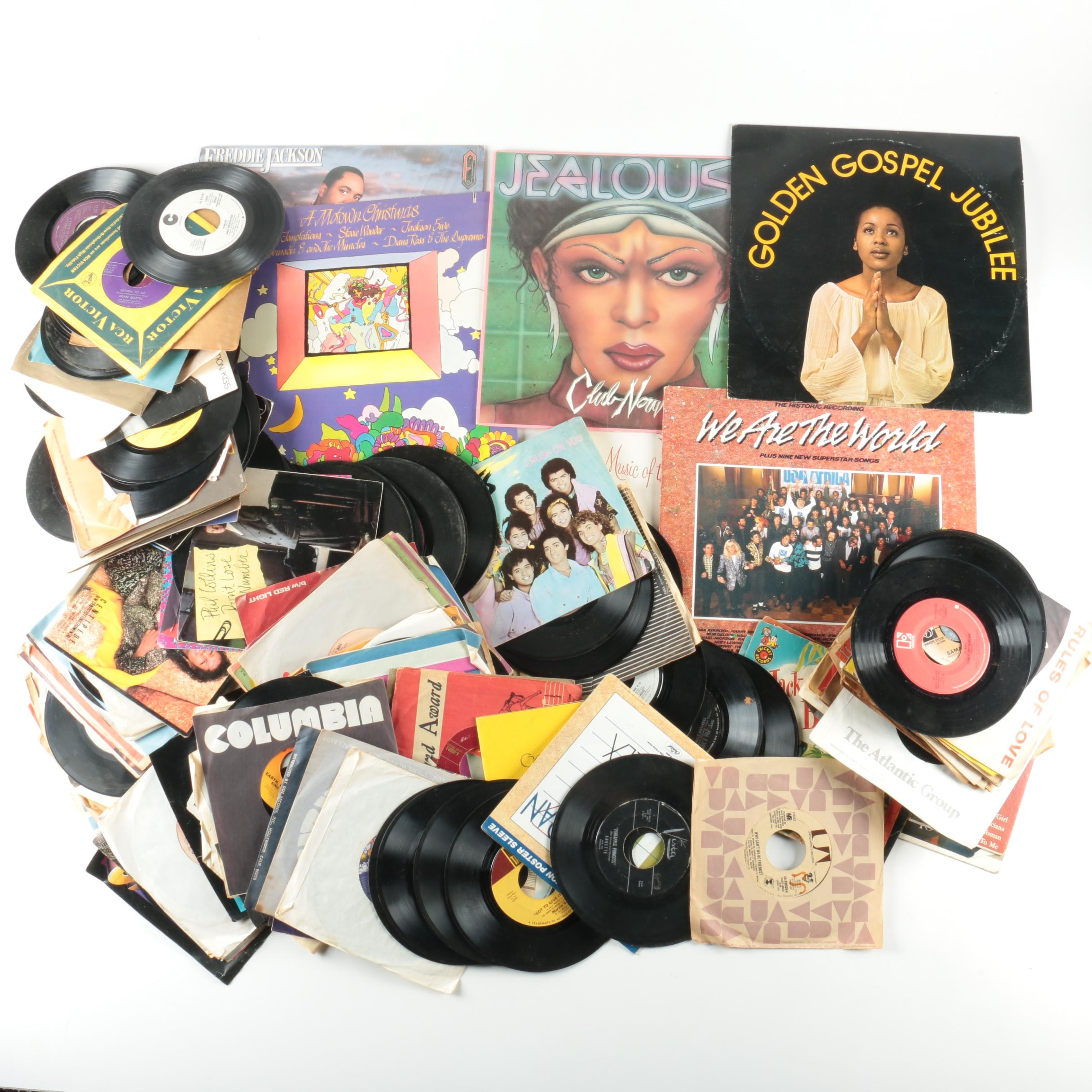 Prince, Aretha Franklin, Other Motown and Soul Records
