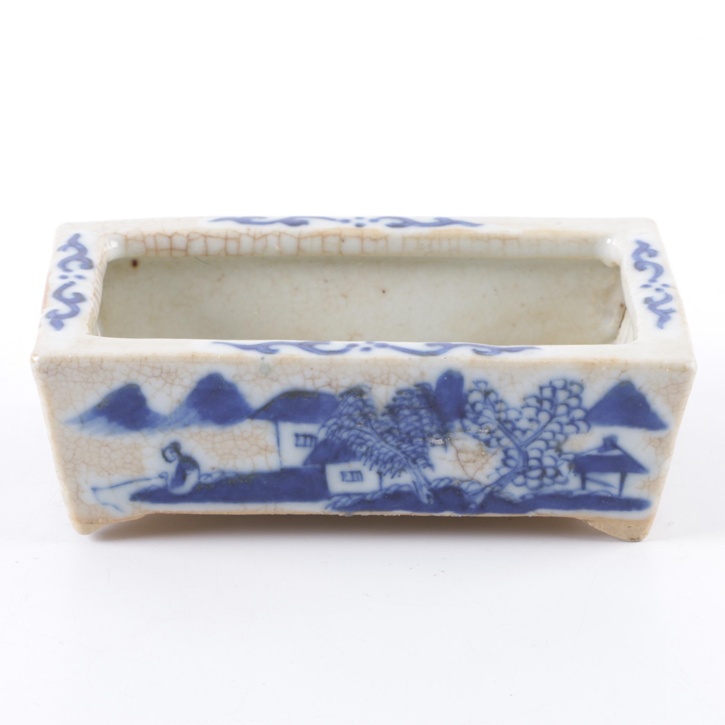 Antique Chinese Ceramic Planter