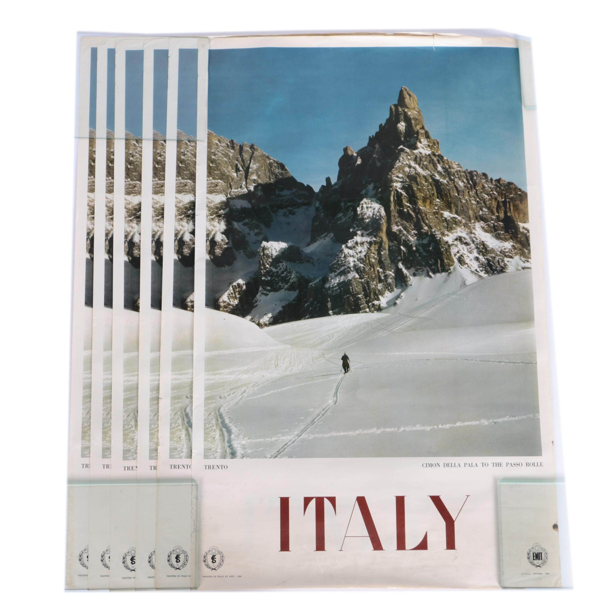 Vintage ENIT Italy Posters
